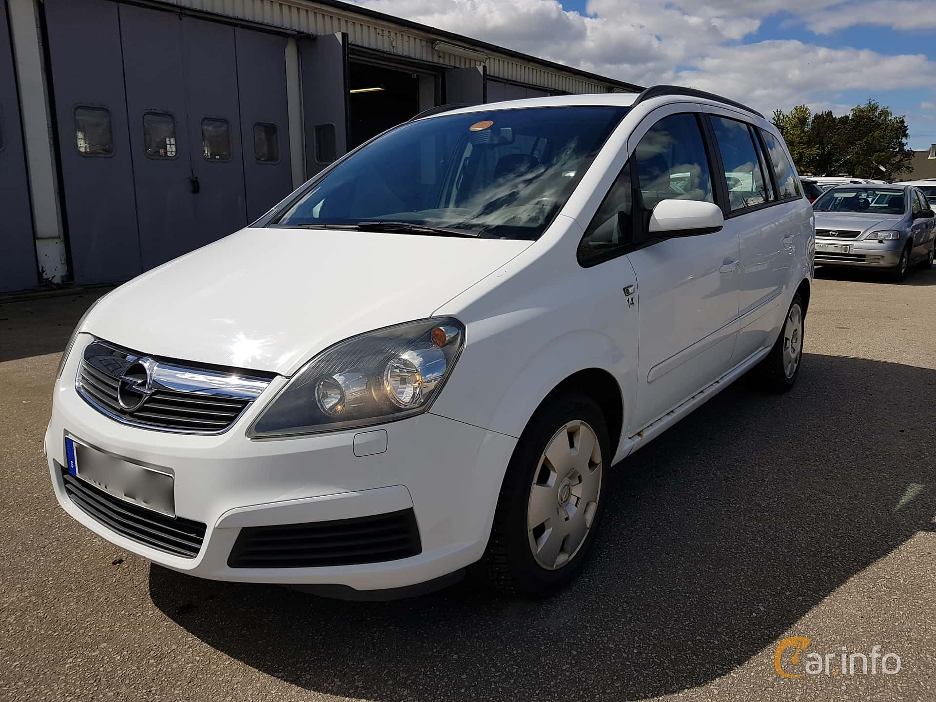 Opel Zafira 1.6 CNG ecoFLEX  Manual, 94hp, 2006