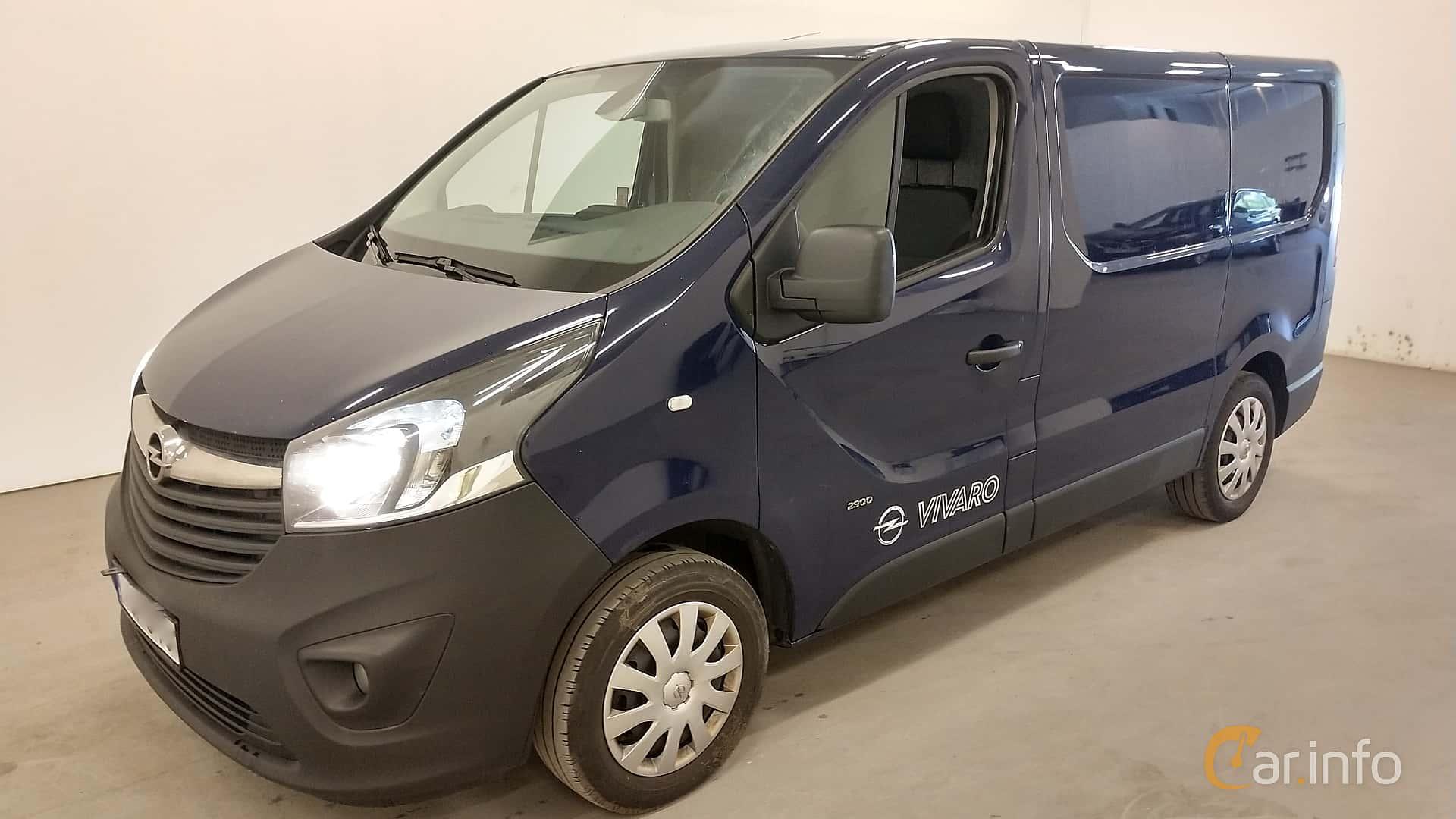 Opel Vivaro Van 1.6 CDTI BIturbo Manual, 120hp, 2015