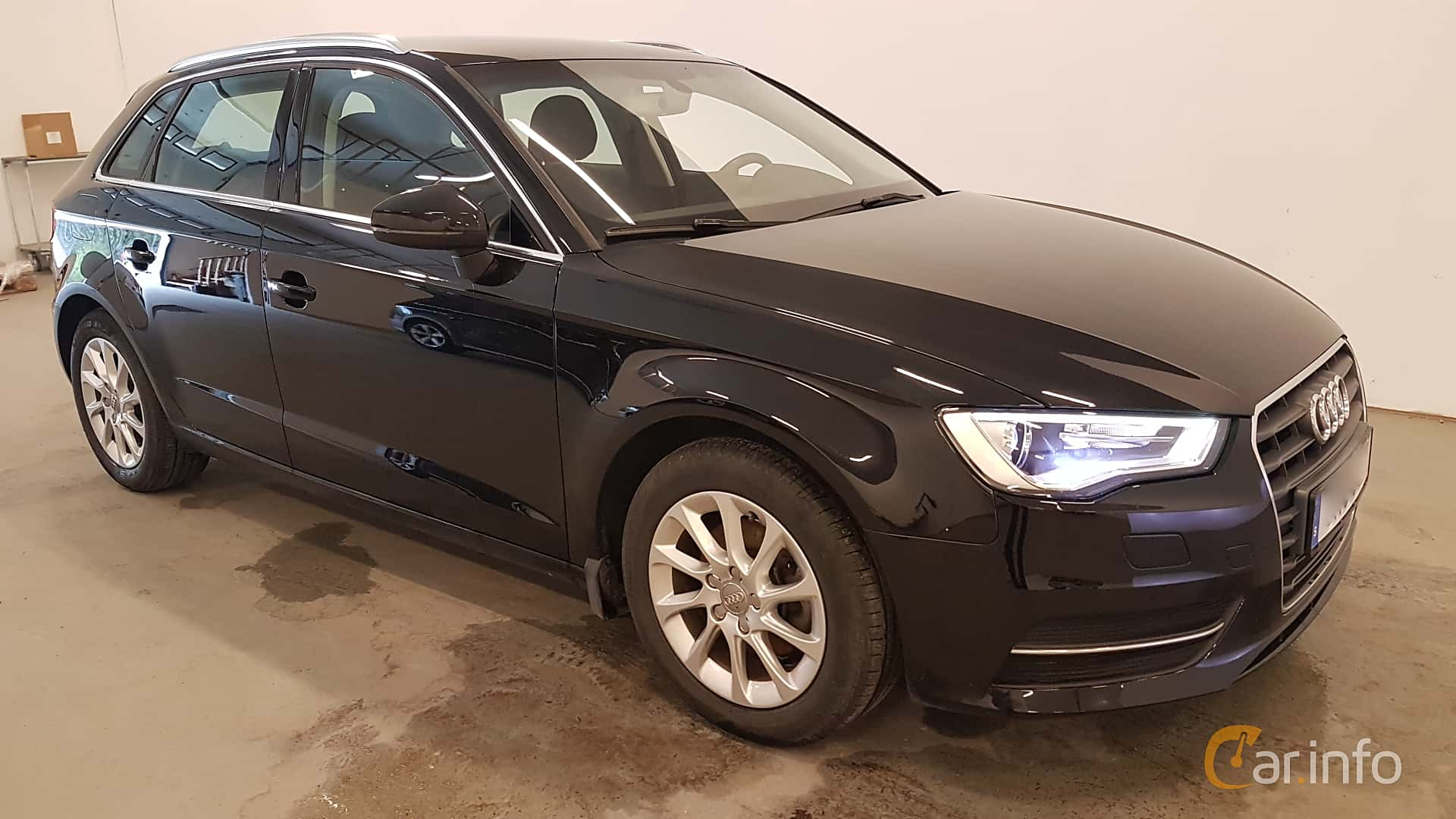 Front/Side  of Audi A3 Sportback 1.2 TFSI Manual, 110ps, 2016