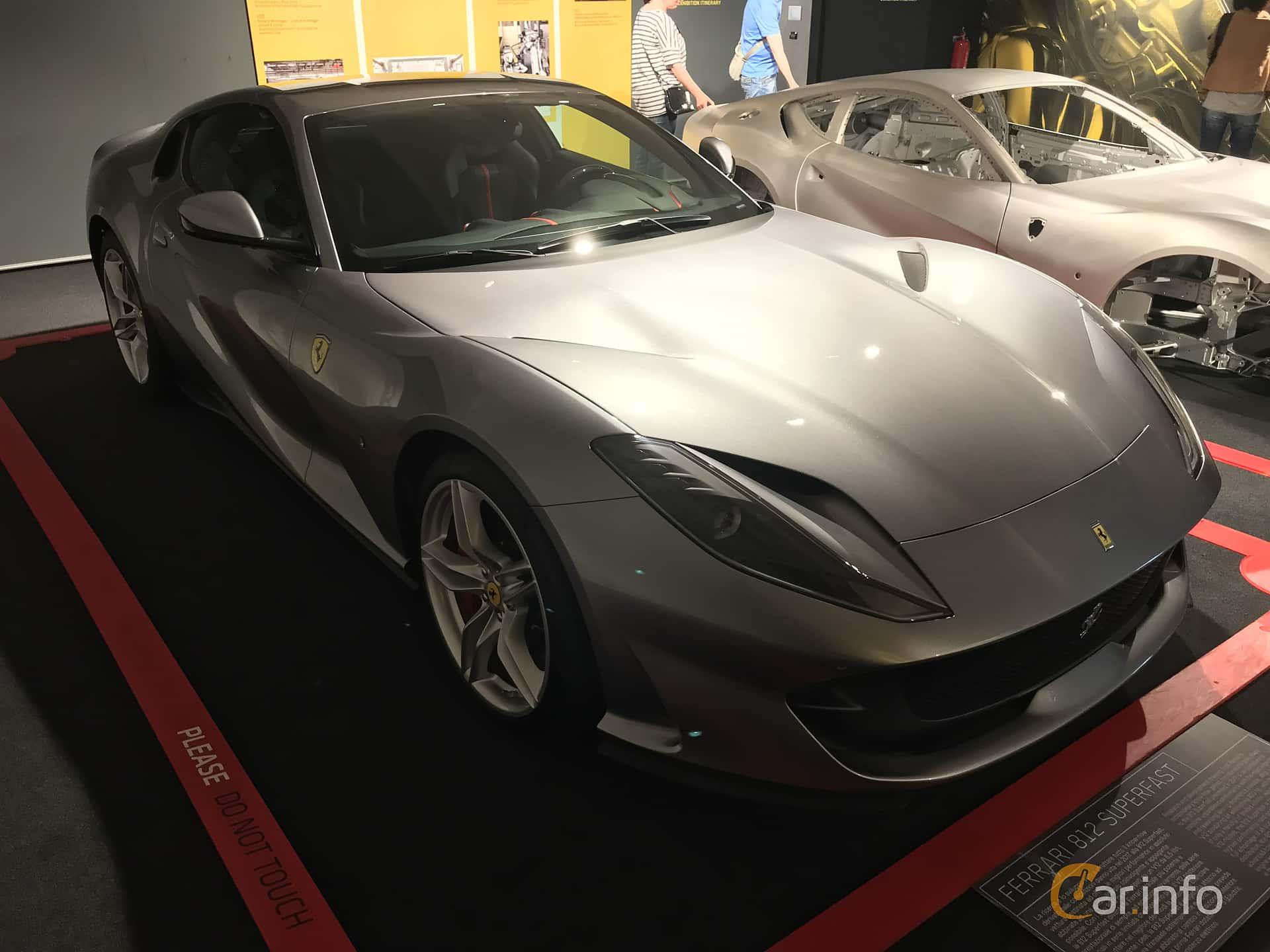 Ferrari 812 Superfast 6.5 V12 DCT, 800hp, 2018