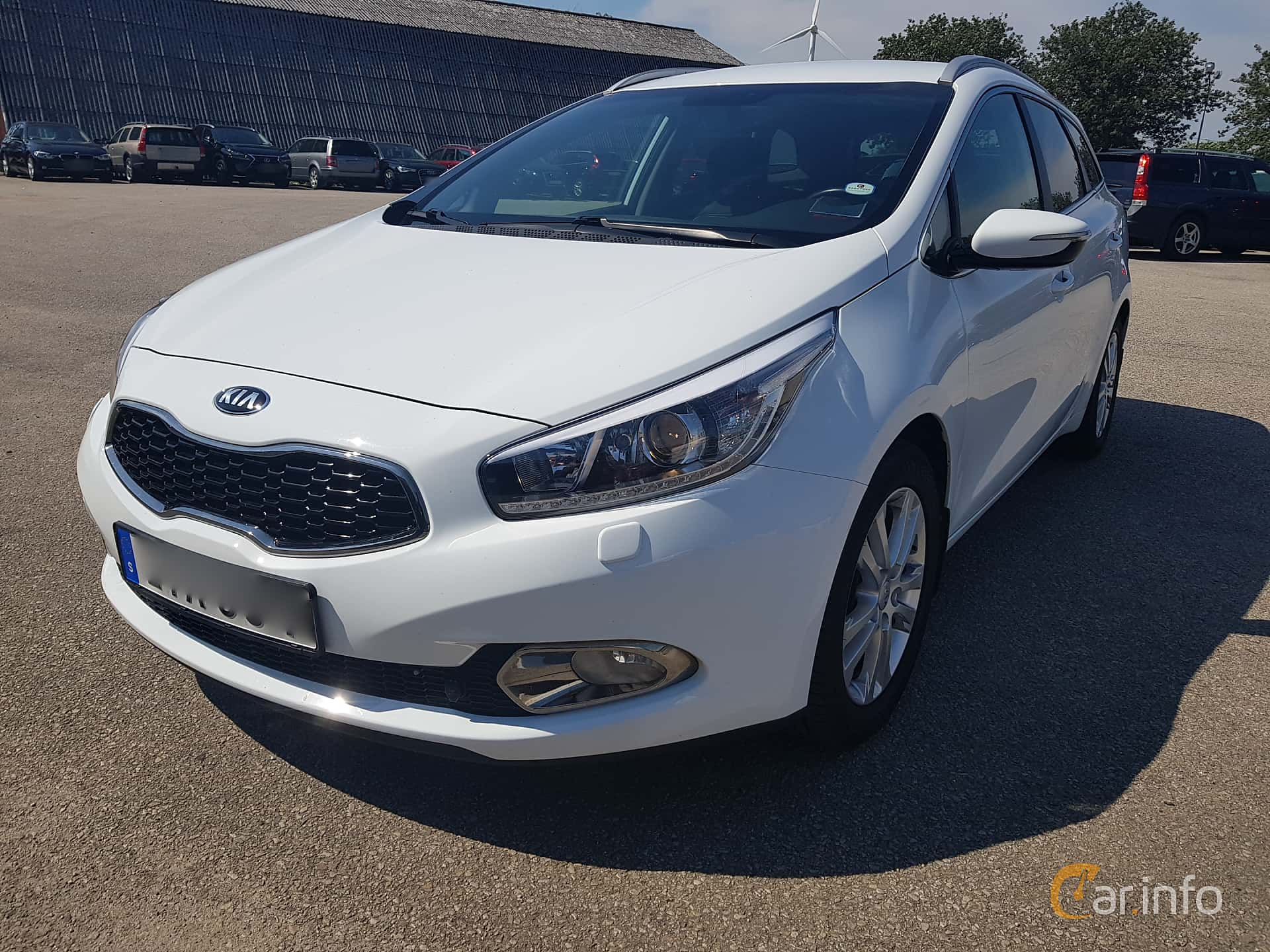 Kia cee'd_sw 1.6 CRDi Manual, 128hp, 2015