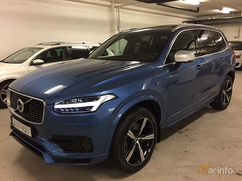 Front/Side  of Volvo XC90 T8 TwEn AWD Geartronic, 407ps, 2017