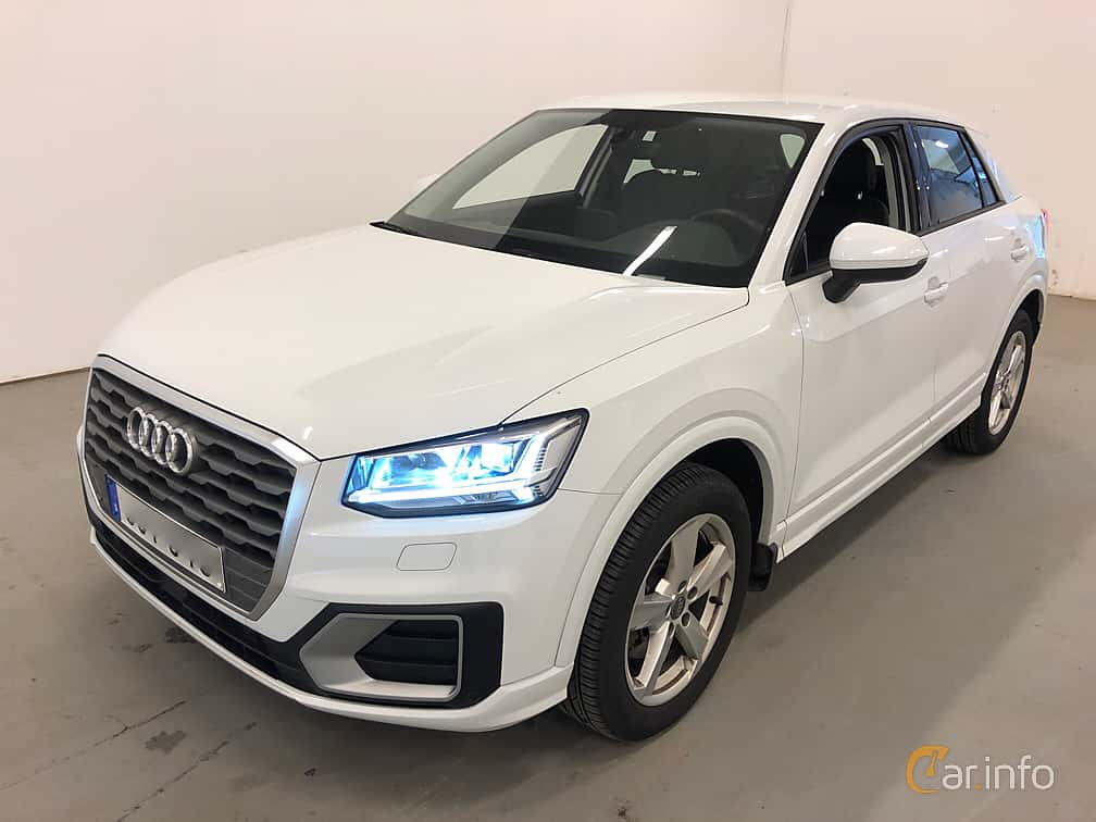 Front/Side  of Audi Q2 1.6 TDI Manual, 116ps, 2018