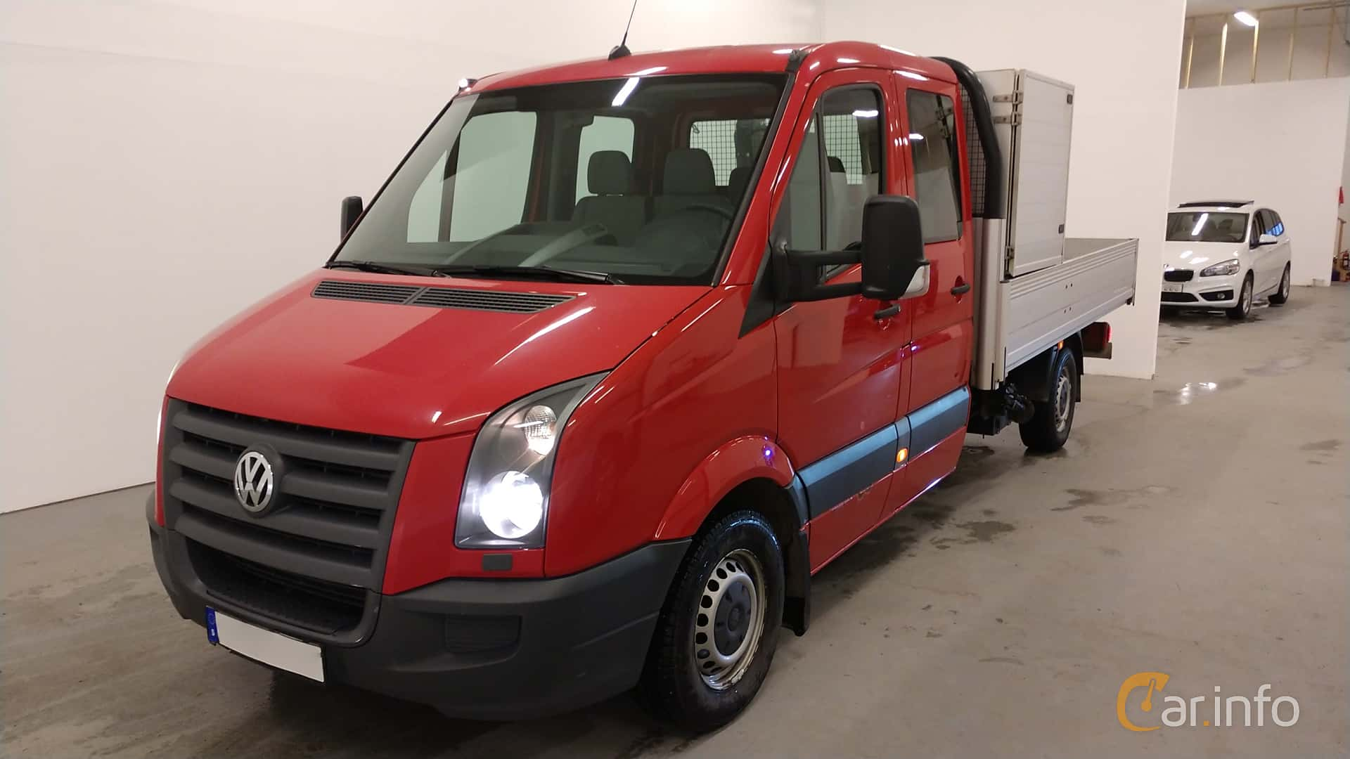 Volkswagen Crafter Chassi Double Cab 2.5 TDI Manuell, 109hk, 2009