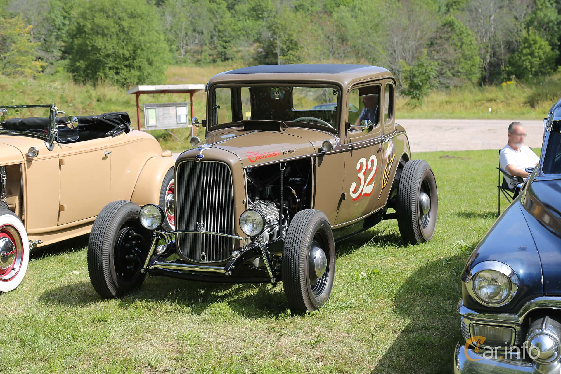 Ford Model B Sport Coupé 3.3 Manual, 51hp, 1932 at A-bombers - Old Style Weekend Backamo 2019