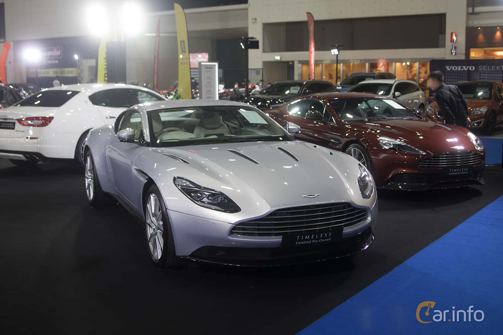 Aston Martin DB11 2017 at Bangkok Motor Show 2019
