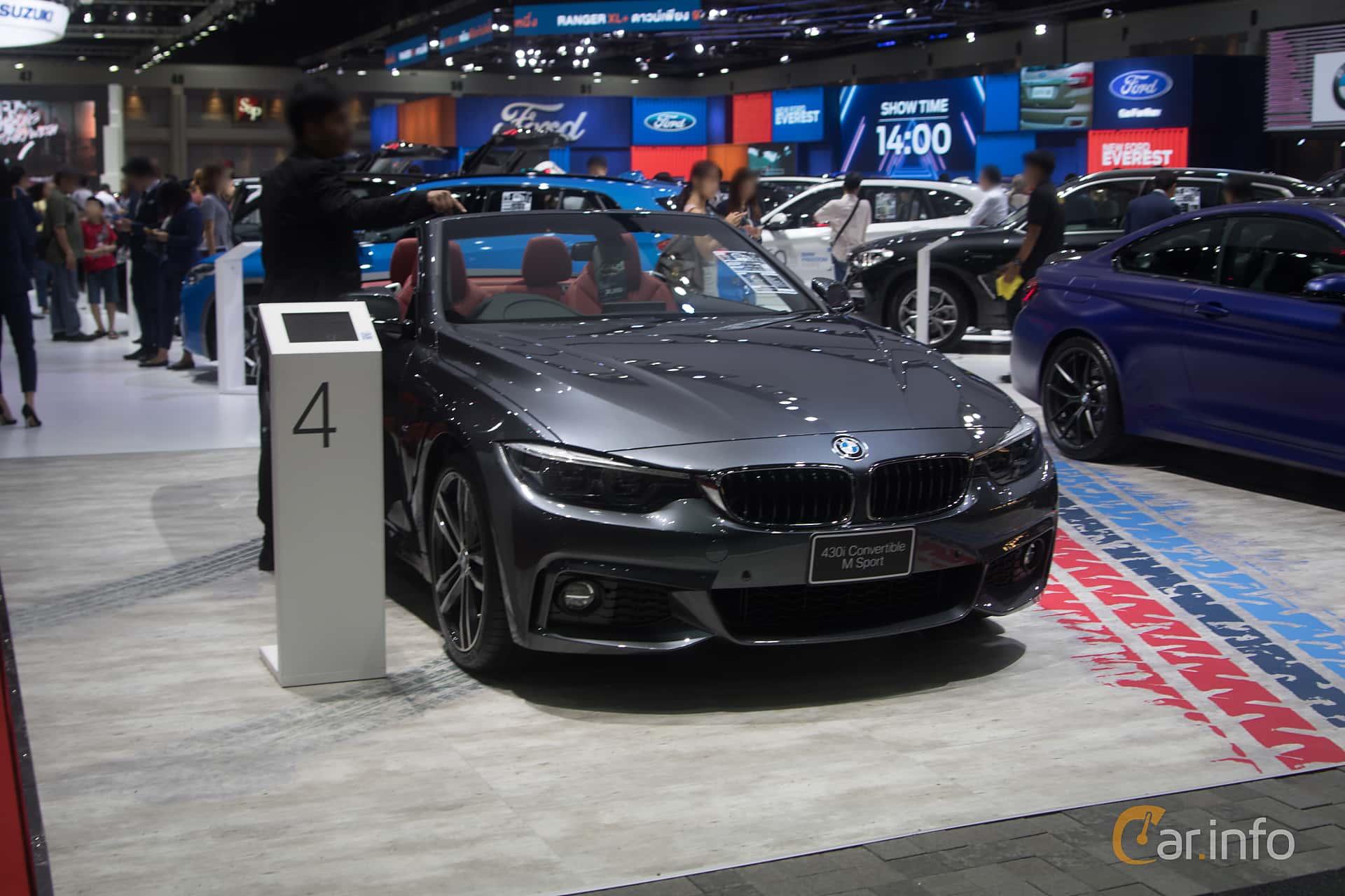 BMW 430i Convertible  Steptronic, 252hp, 2019 at Bangkok Motor Show 2019