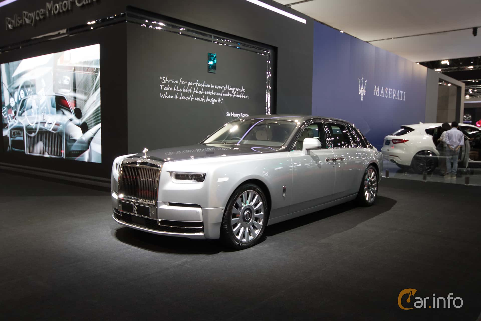 Rolls-Royce Phantom 6.7 V12 Automatic, 571hp, 2019 at Bangkok Motor Show 2019