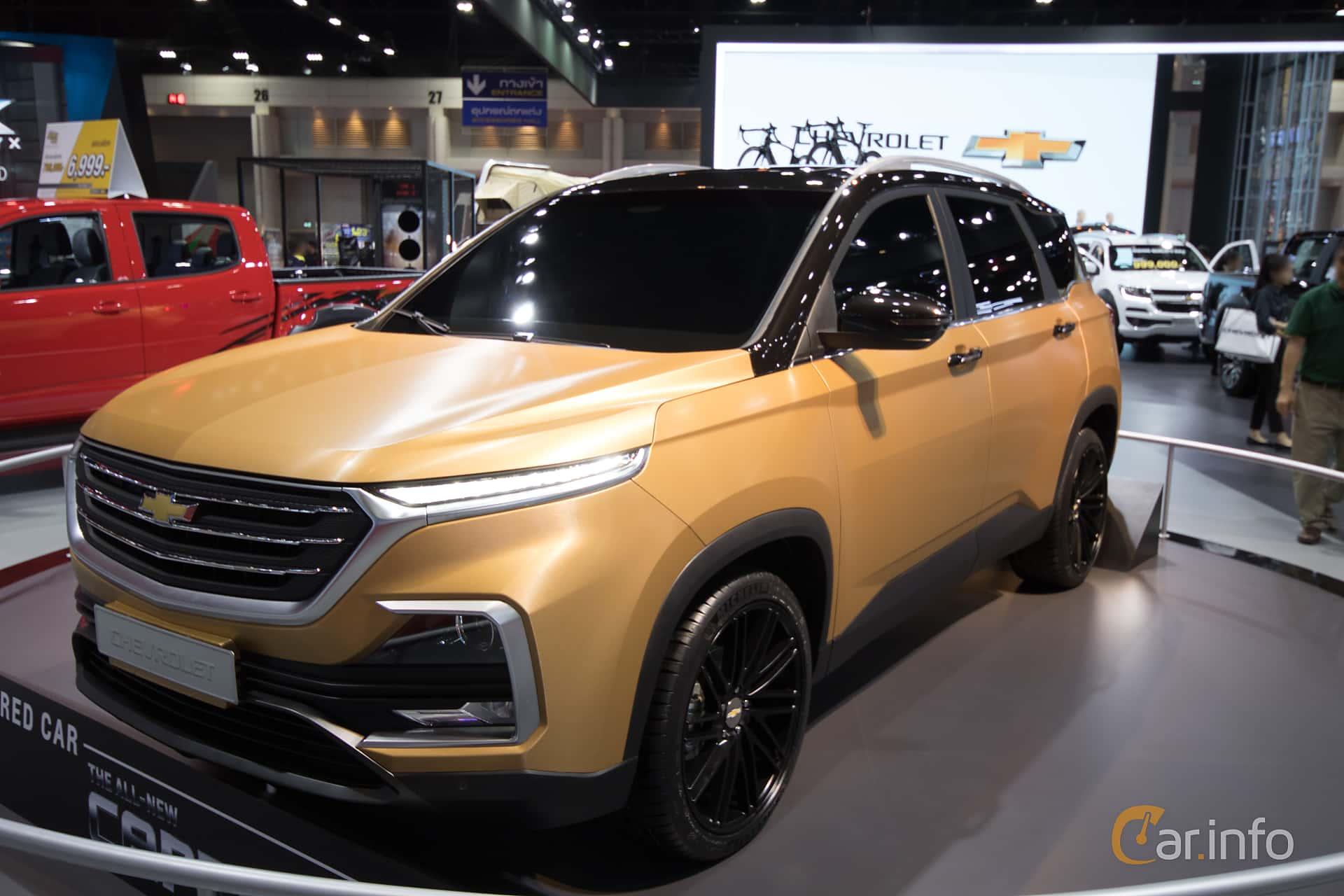 Chevrolet Captiva 1.5 150hp, 2019 at Bangkok Motor Show 2019