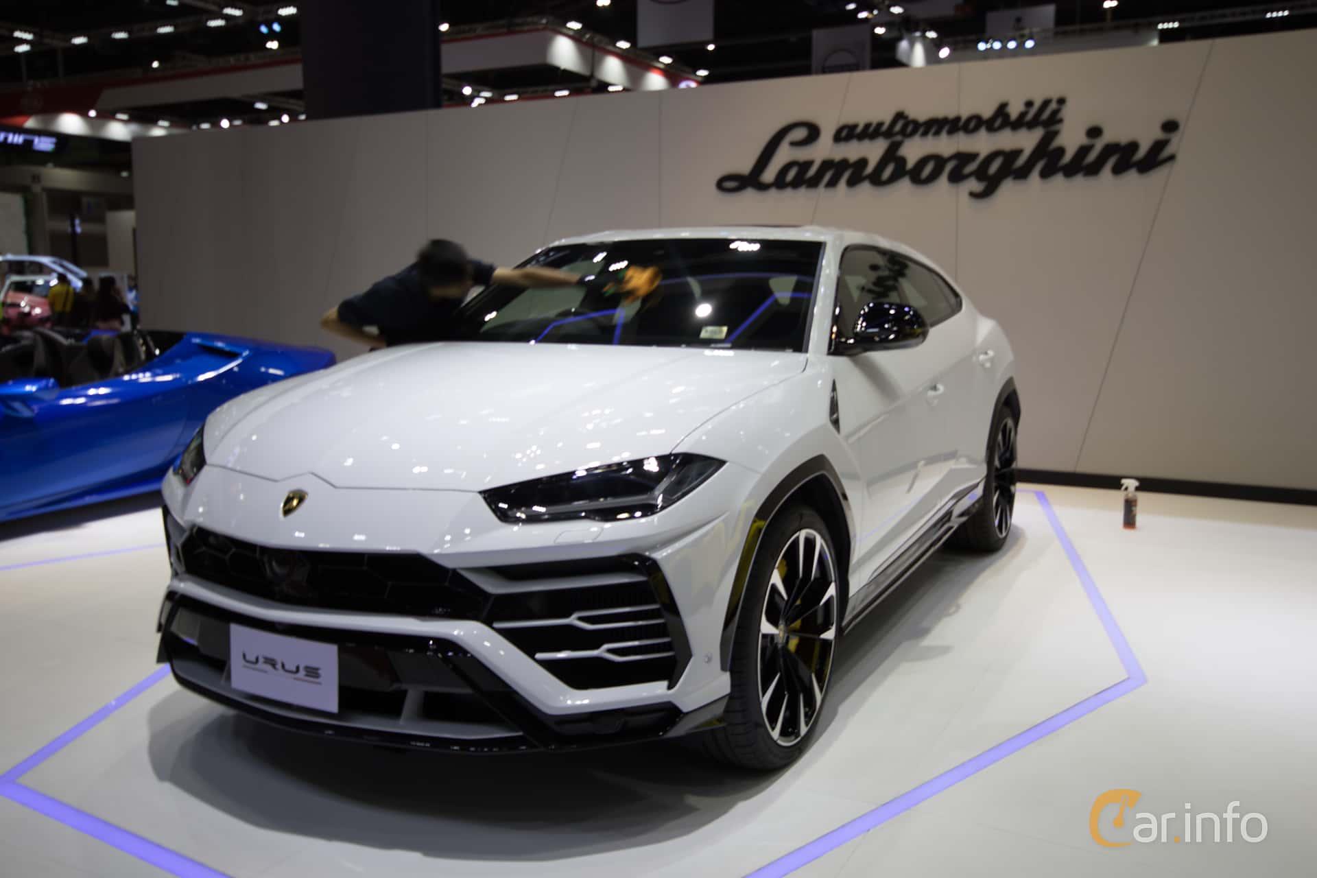 Lamborghini Urus 4.0 V8 AWD Automatic, 650hp, 2019 at Bangkok Motor Show 2019