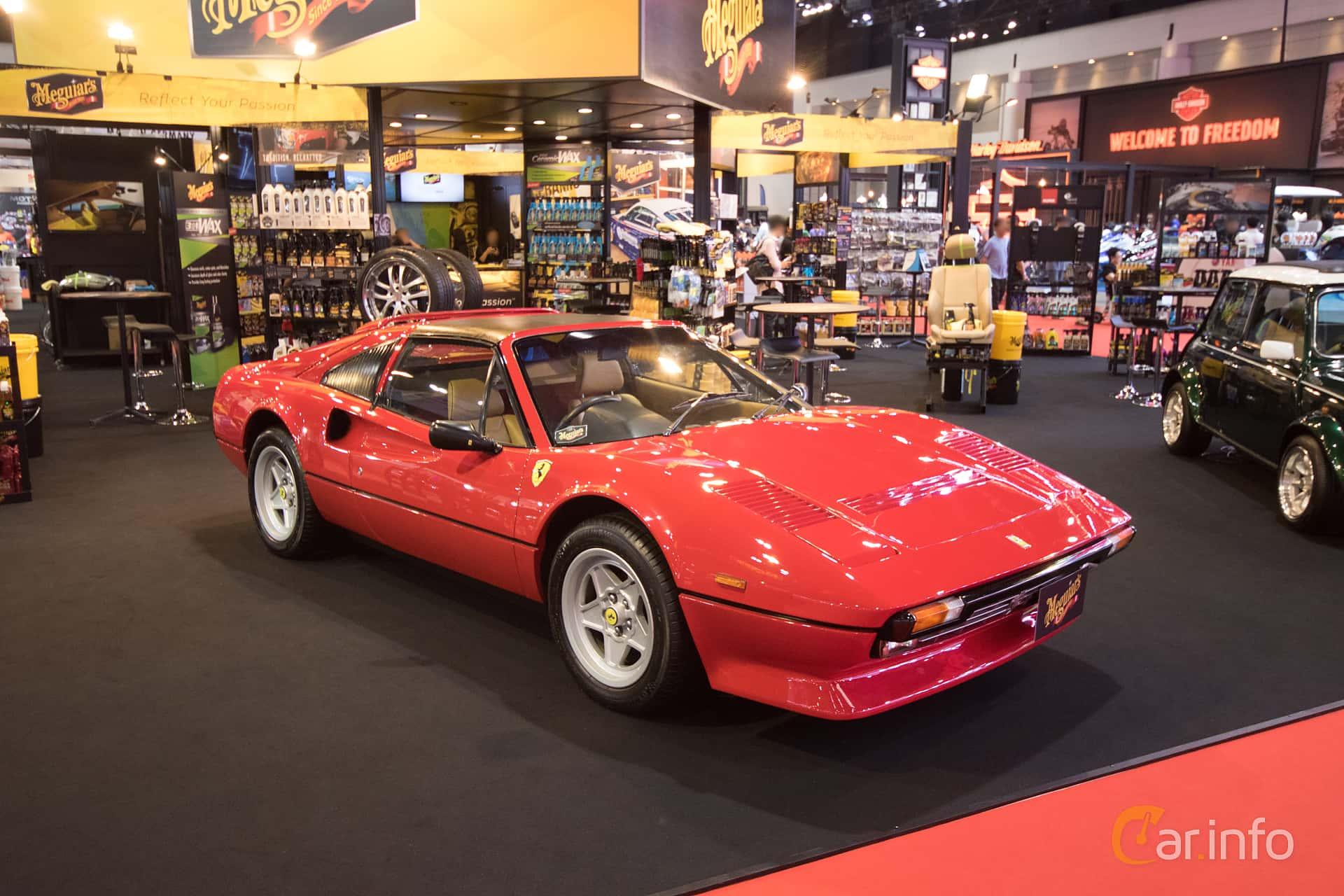 Ferrari 308 GTB 2.9 V8 Manual, 255hp, 1975 at Bangkok Motor Show 2019