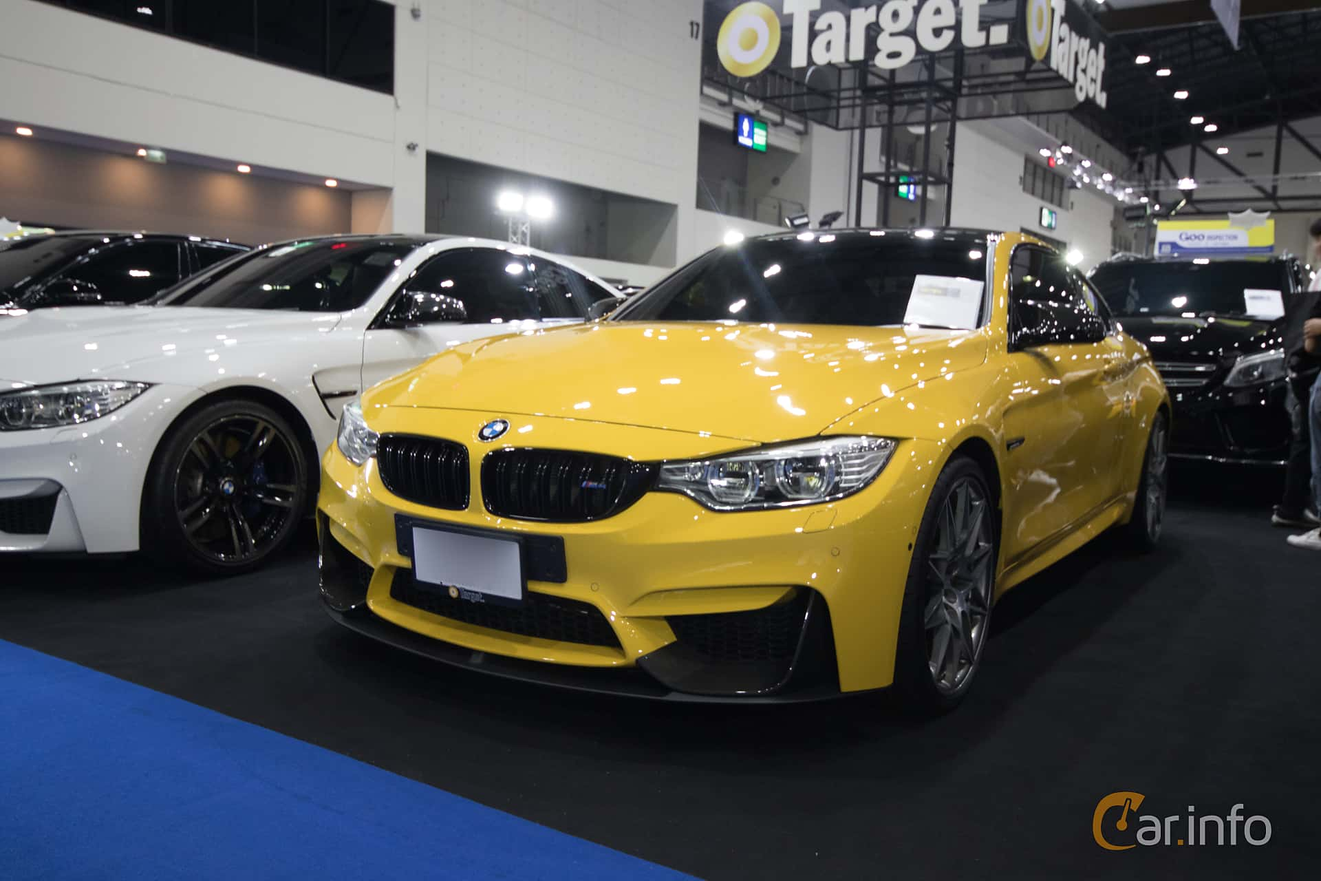 Front/Side  of BMW M4 Coupé  431ps, 2014 at Bangkok Motor Show 2019