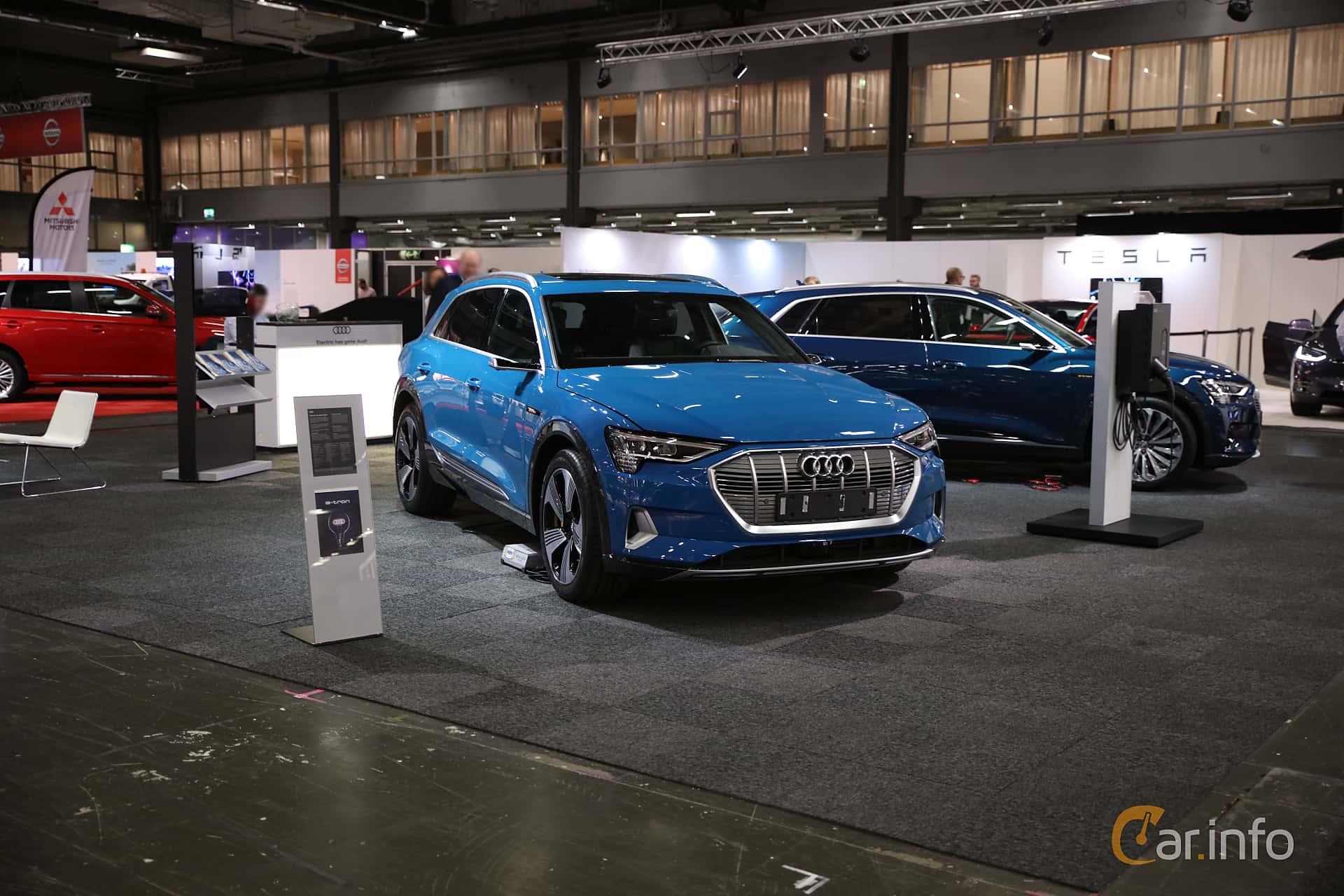 Audi e-tron 55 quattro  Single Speed, 408hp, 2019 at eCar Expo Göteborg 2018