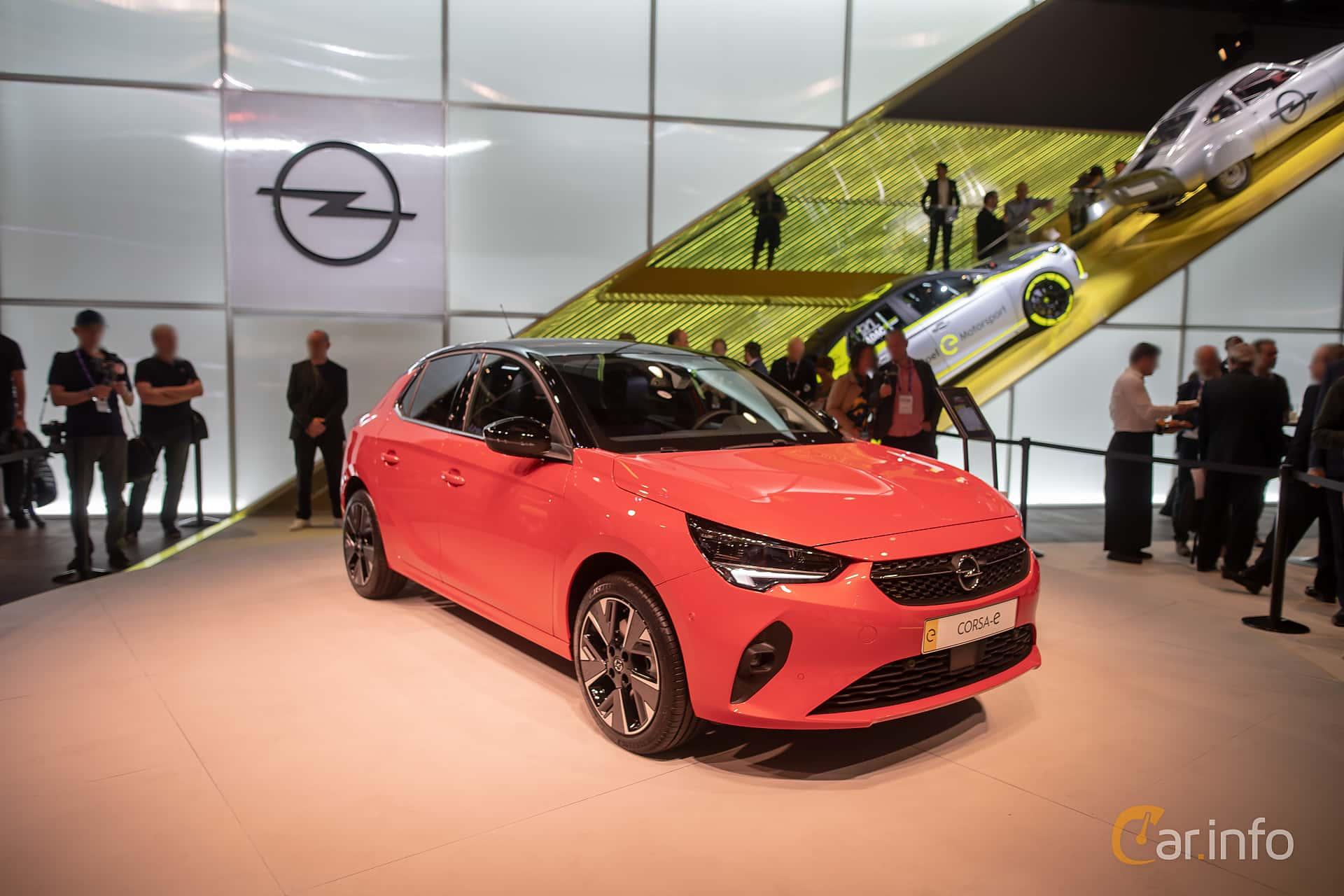 Opel Corsa-e 50 kWh Single Speed, 136hp, 2020 at IAA 2019