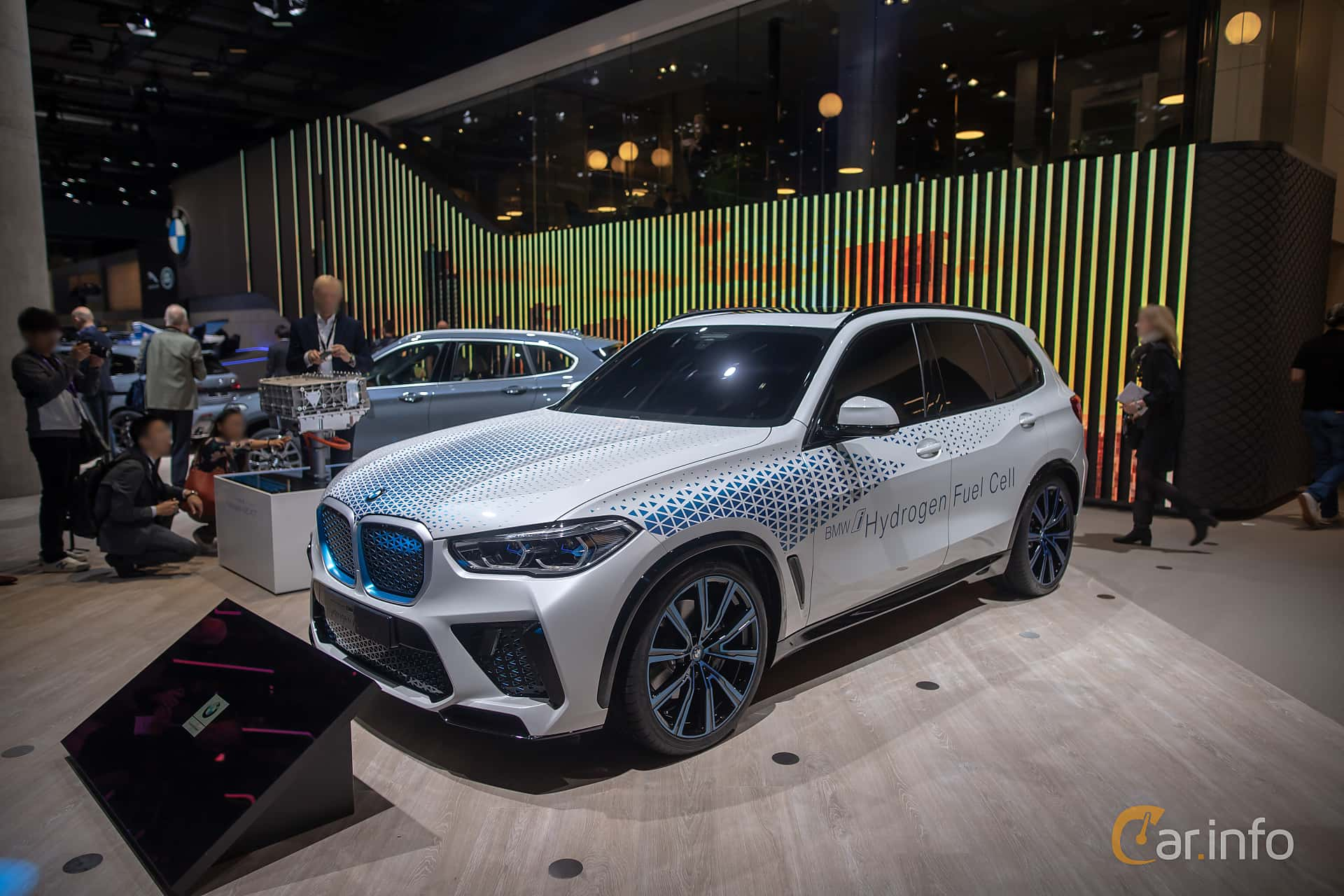 Front/Side  of BMW i Hydrogen NEXT Concept Concept, 2019 at IAA 2019