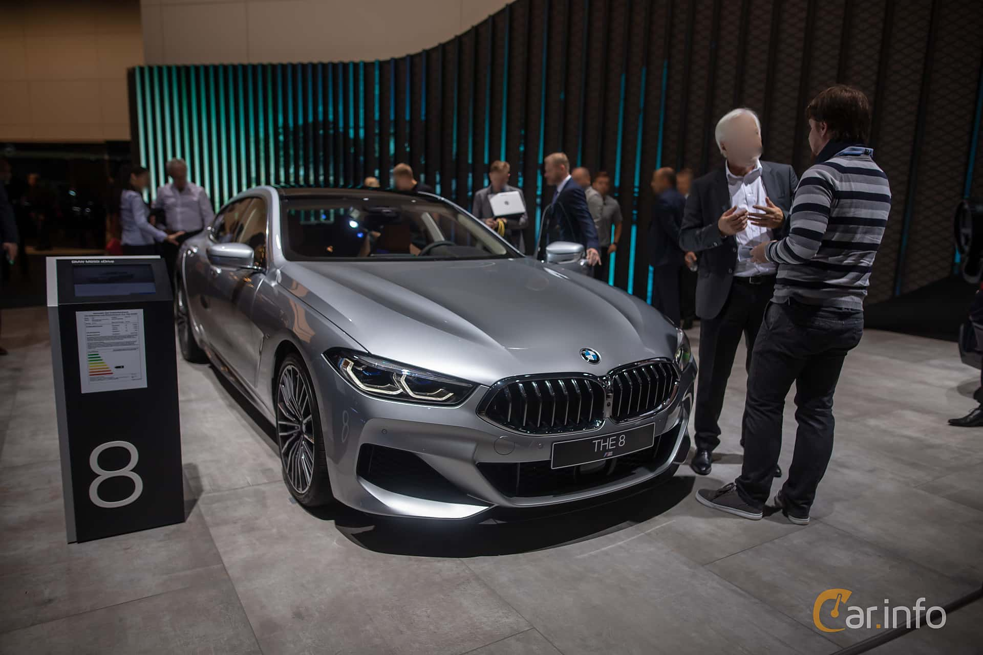BMW M850i xDrive Gran Coupe  Steptronic, 530hp, 2020 at IAA 2019