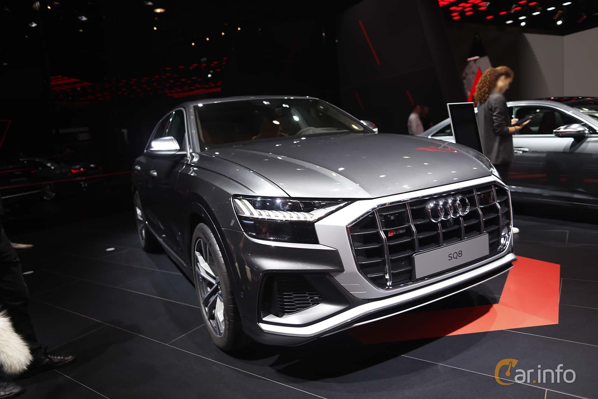 Audi SQ8 TDI  TipTronic, 435hp, 2020 at IAA 2019
