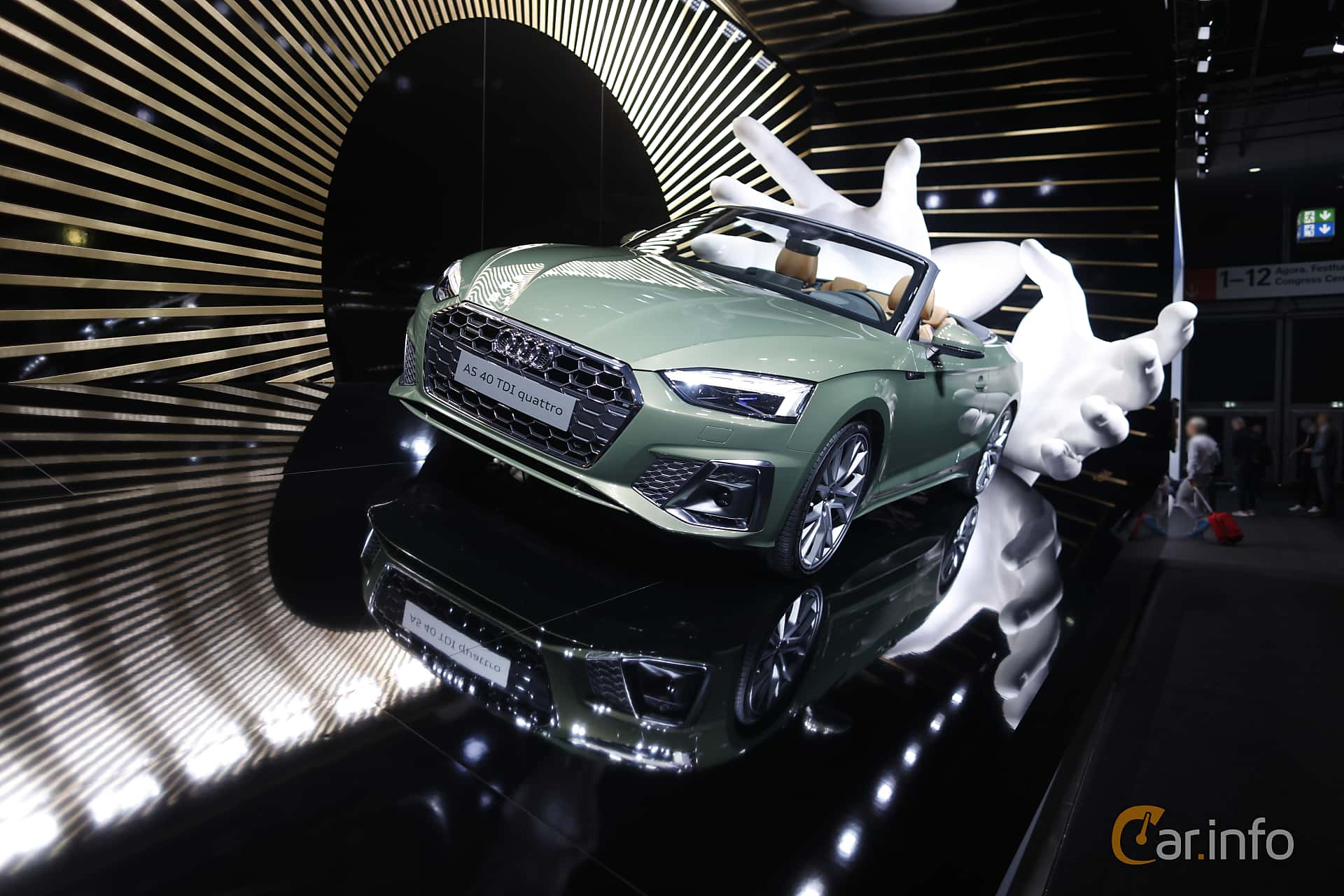 Audi A5 40 TDI Cabriolet  S Tronic, 190hp, 2020 at IAA 2019