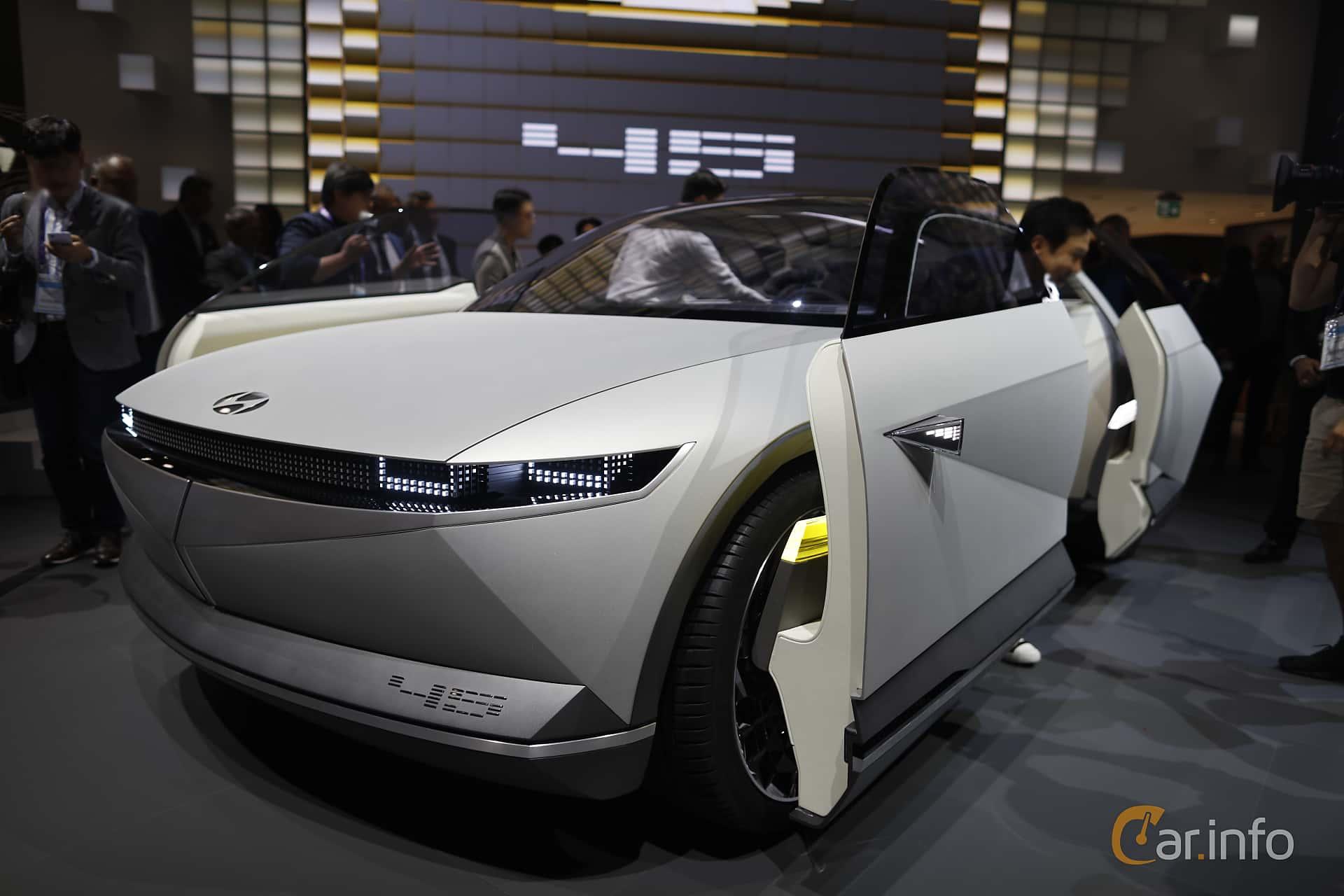 Front/Side  of Hyundai 45 EV Concept Concept, 2020 at IAA 2019