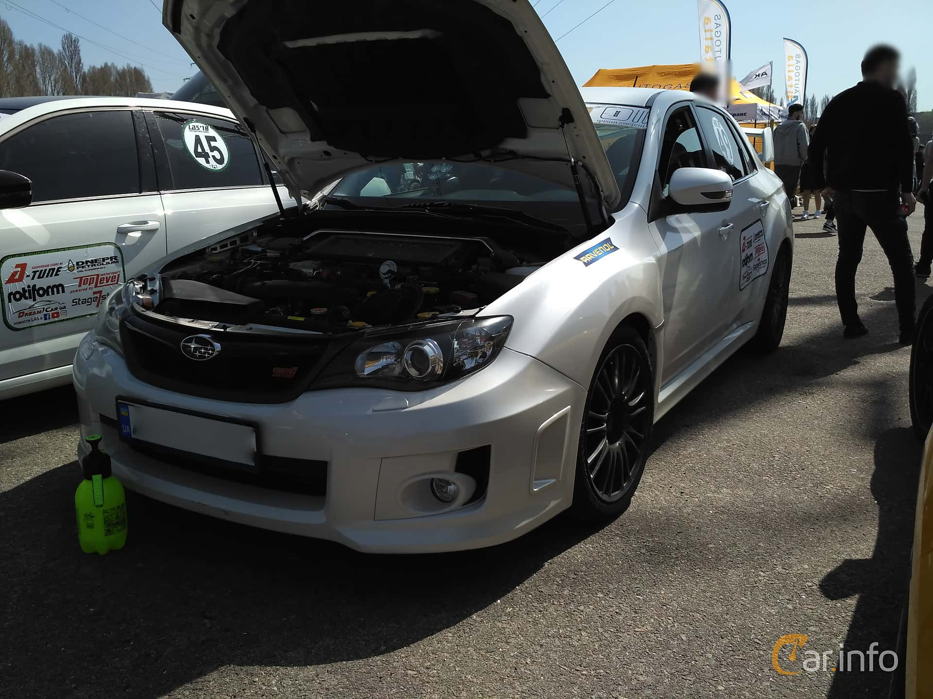 Subaru WRX STi Sedan 2.5 4WD Manual, 300hp, 2007 at Ltava Time Attack 1st Stage