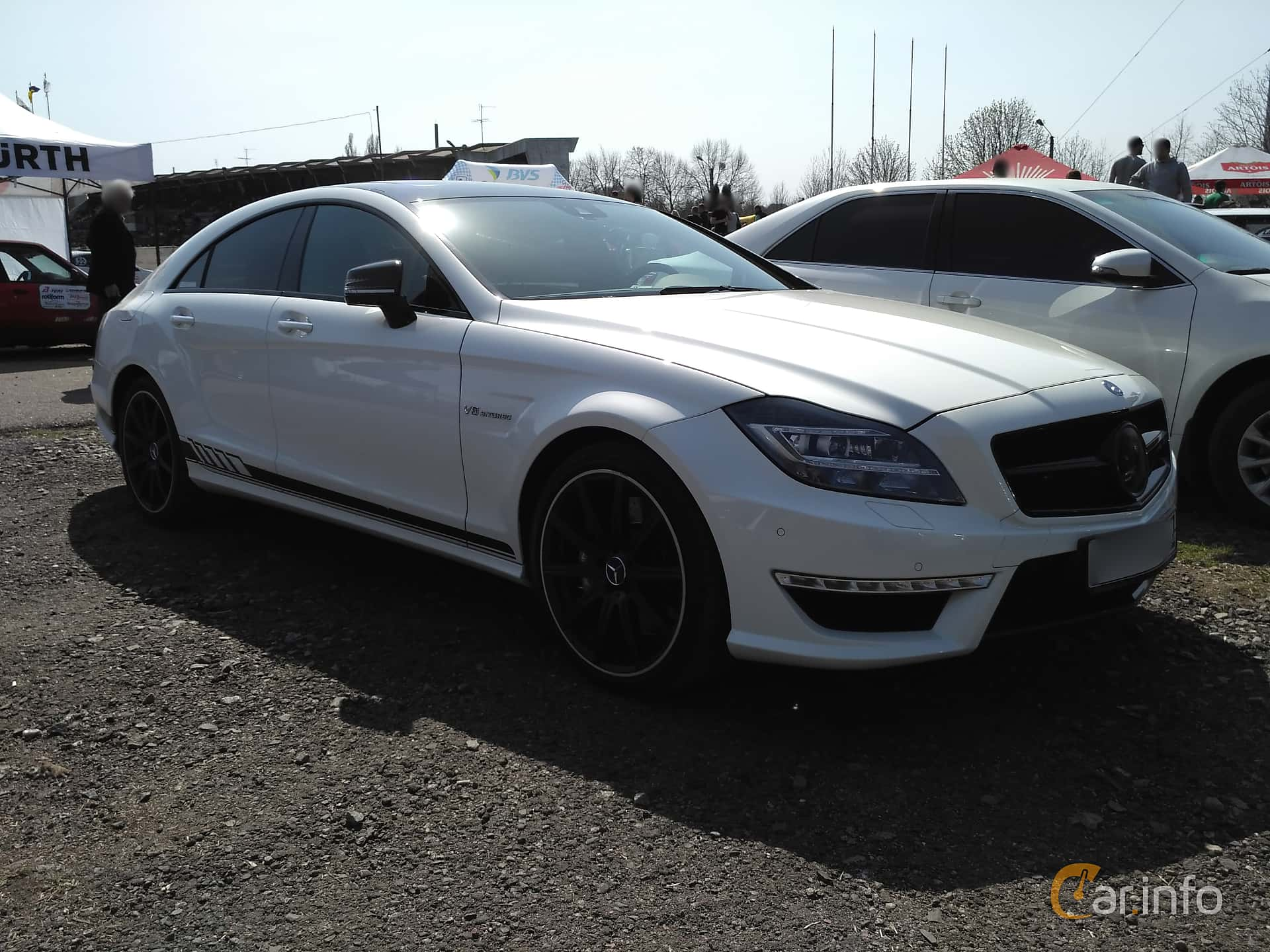 Fram/Sida av Mercedes-Benz CLS 63 AMG S 4MATIC 5.5 V8 4MATIC , 585ps, 2013 på Ltava Time Attack 1st Stage