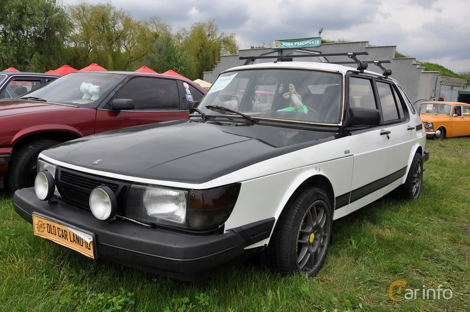 Saab 900 3-door 1985 at Old Car Land no.1 2019