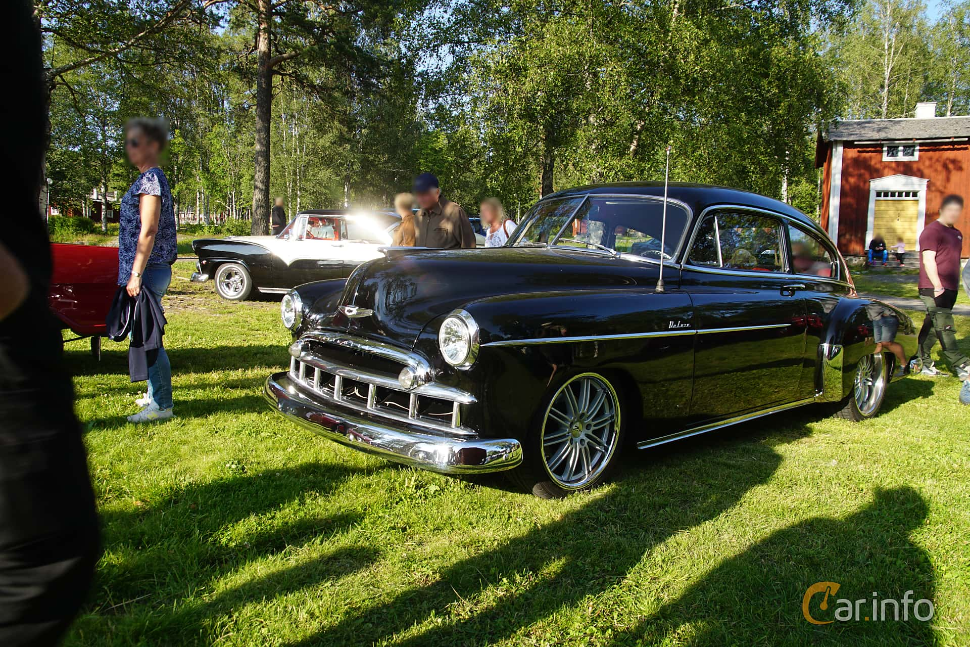 Chevrolet Fleetline Deluxe 2-door Sedan 3.5 Manual, 91hp, 1949 at Onsdagsträffar på Gammlia Umeå 2019 vecka 28