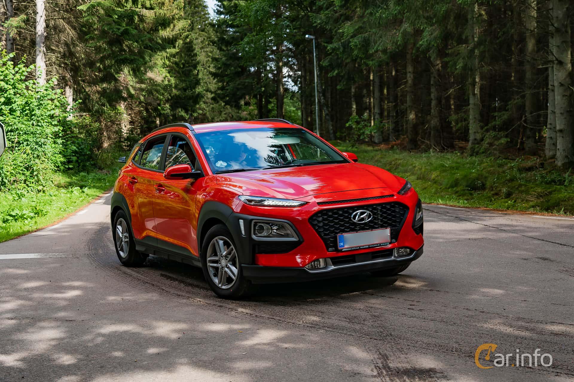 Hyundai Kona 1.0 T-GDI blue Manual, 120hp, 2018 at Svenskt sportvagnsmeeting 2019