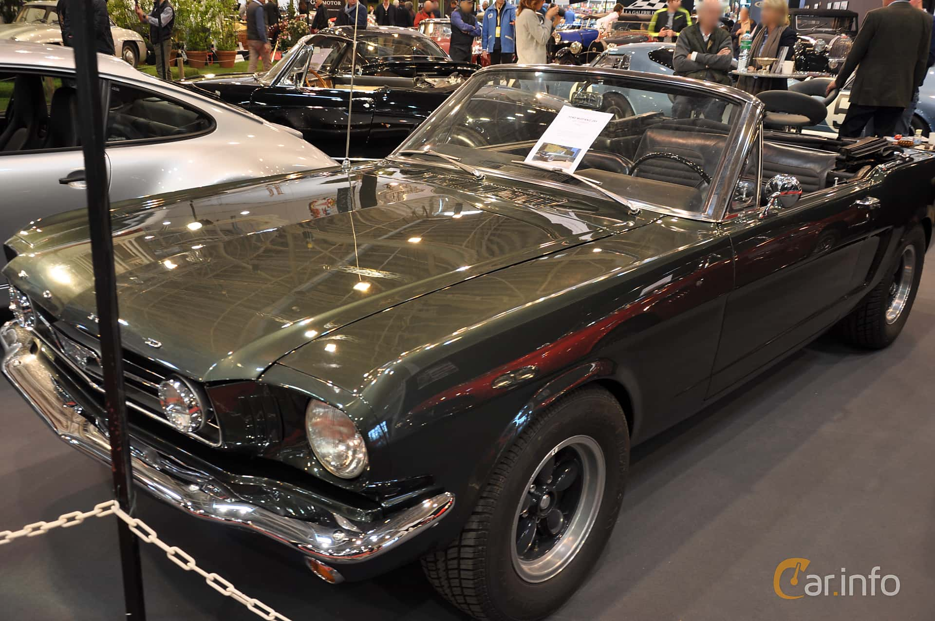 Ford Mustang GT Convertible 4.7 V8 Manual, 228hp, 1966 at Techno Classica Essen 2019