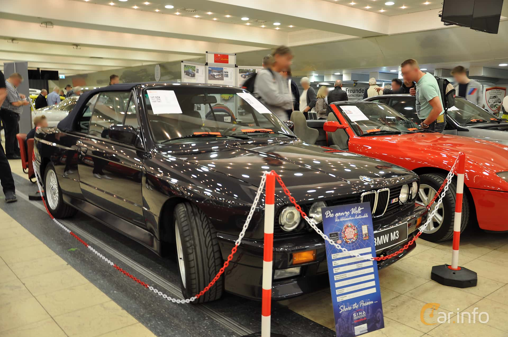 BMW M3 Convertible  Manual, 195hp, 1986 at Techno Classica Essen 2019