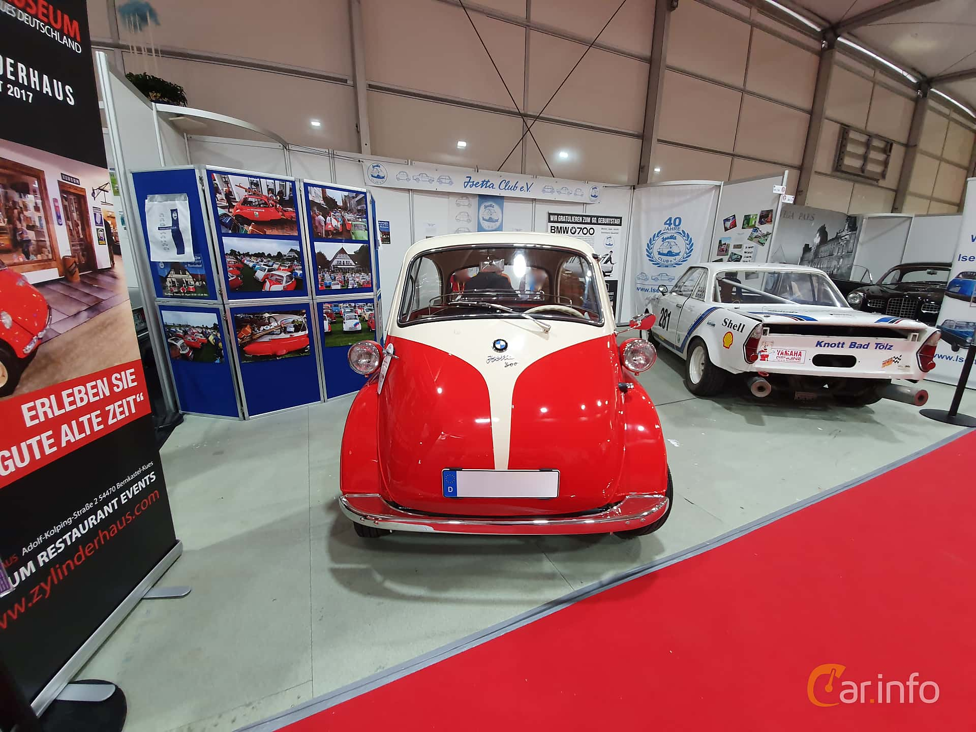 Front  of BMW Isetta 250  Manual, 12ps, 1955 at Techno Classica Essen 2019
