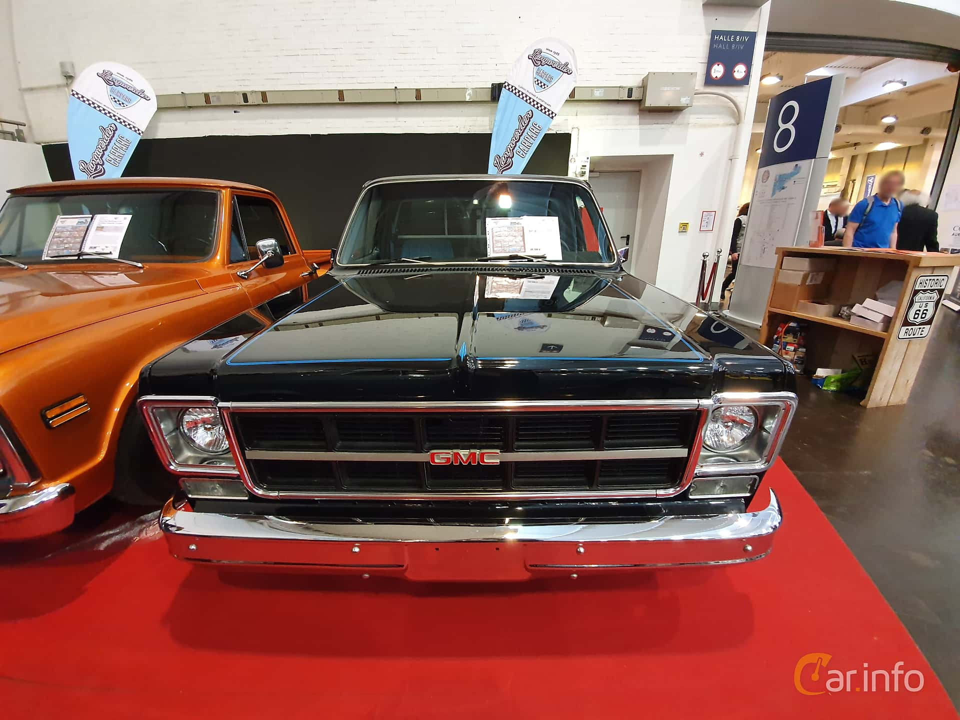 GMC C1500 Chassis 7.4 V8 Hydra-Matic, 248hp, 1977 at Techno Classica Essen 2019