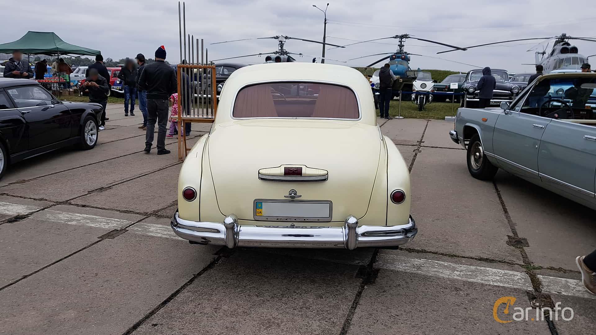 GAZ 12 ZIM 3.5 Manual, 90hp, 1948 at Old Car Land no.2 2017