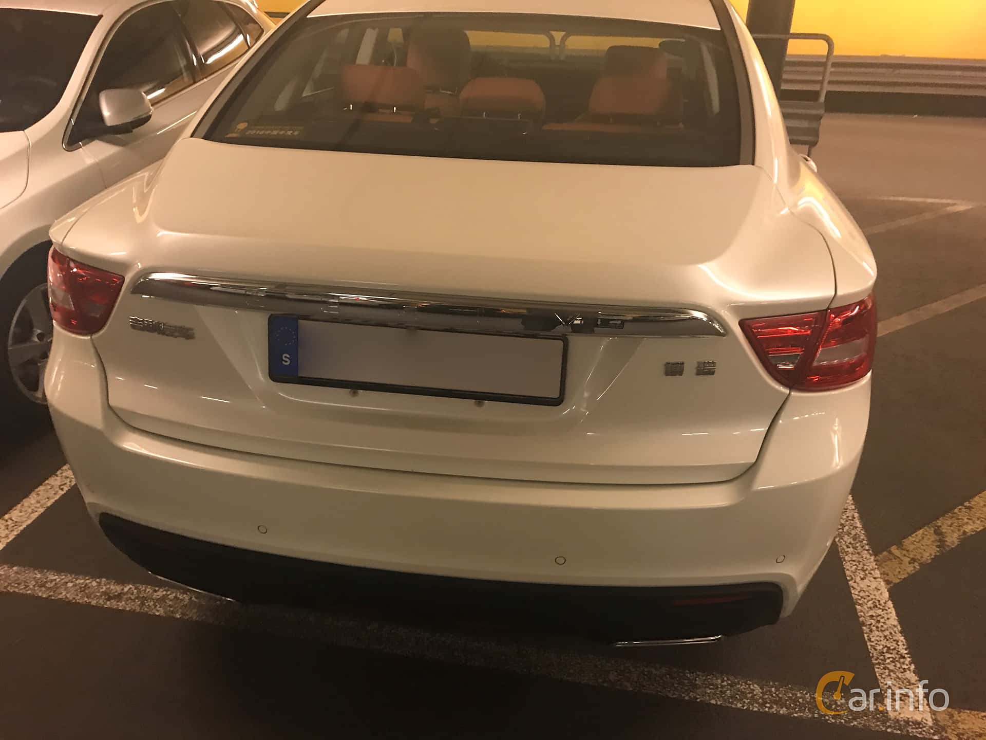 Back of Geely GC9 1.8 Automatic, 180ps, 2017