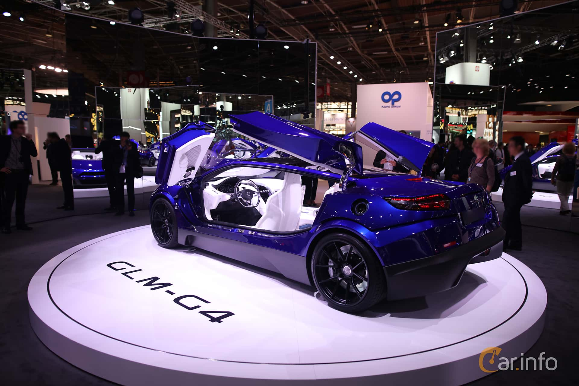 GLM GLM-G4 Electric Concept, 539hp, 2016 at Paris Motor Show 2016