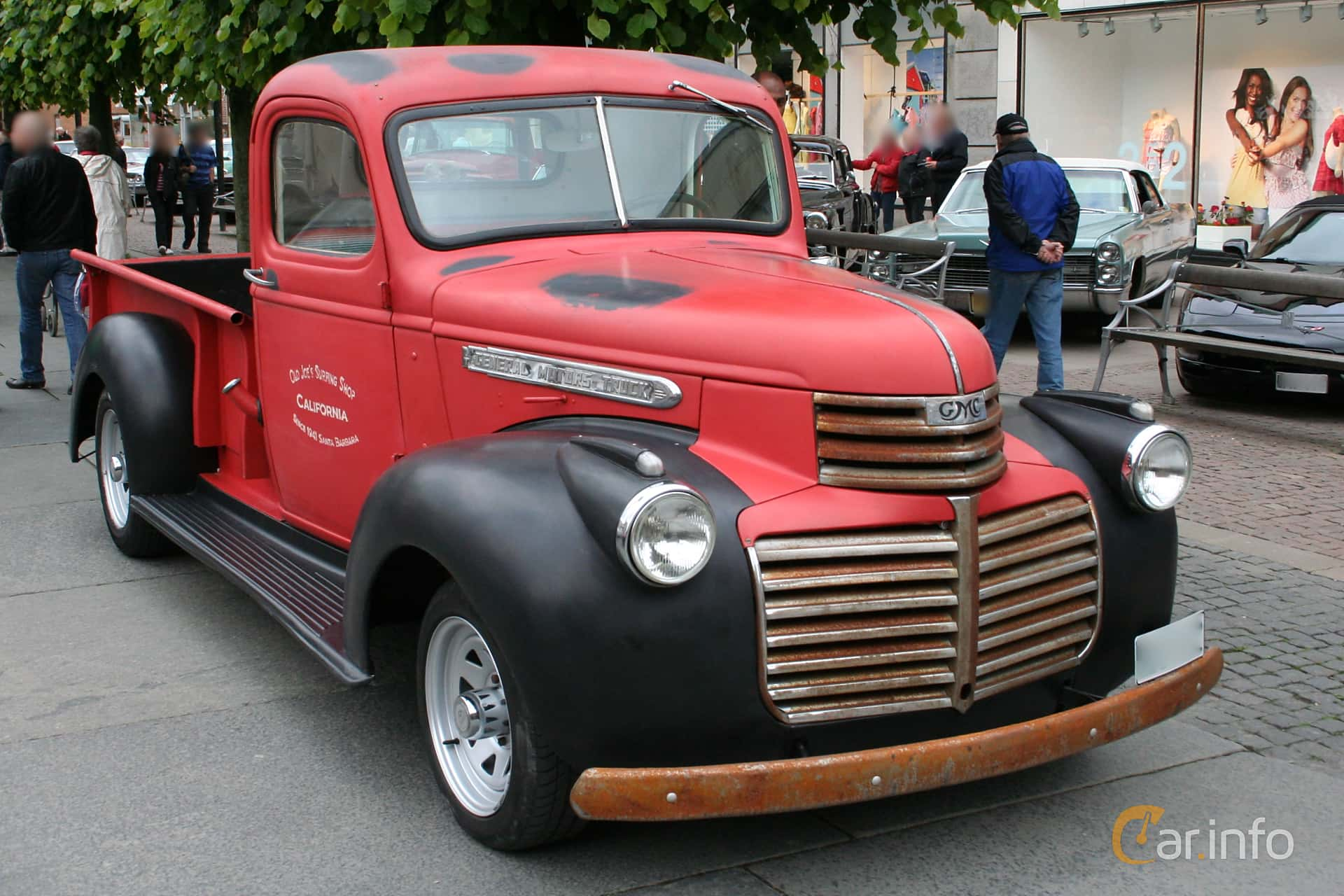 1 Images Of Gmc Cc150 Pickup 35 Manual 79hp 1941 By Espee Truck Front Side 79ps
