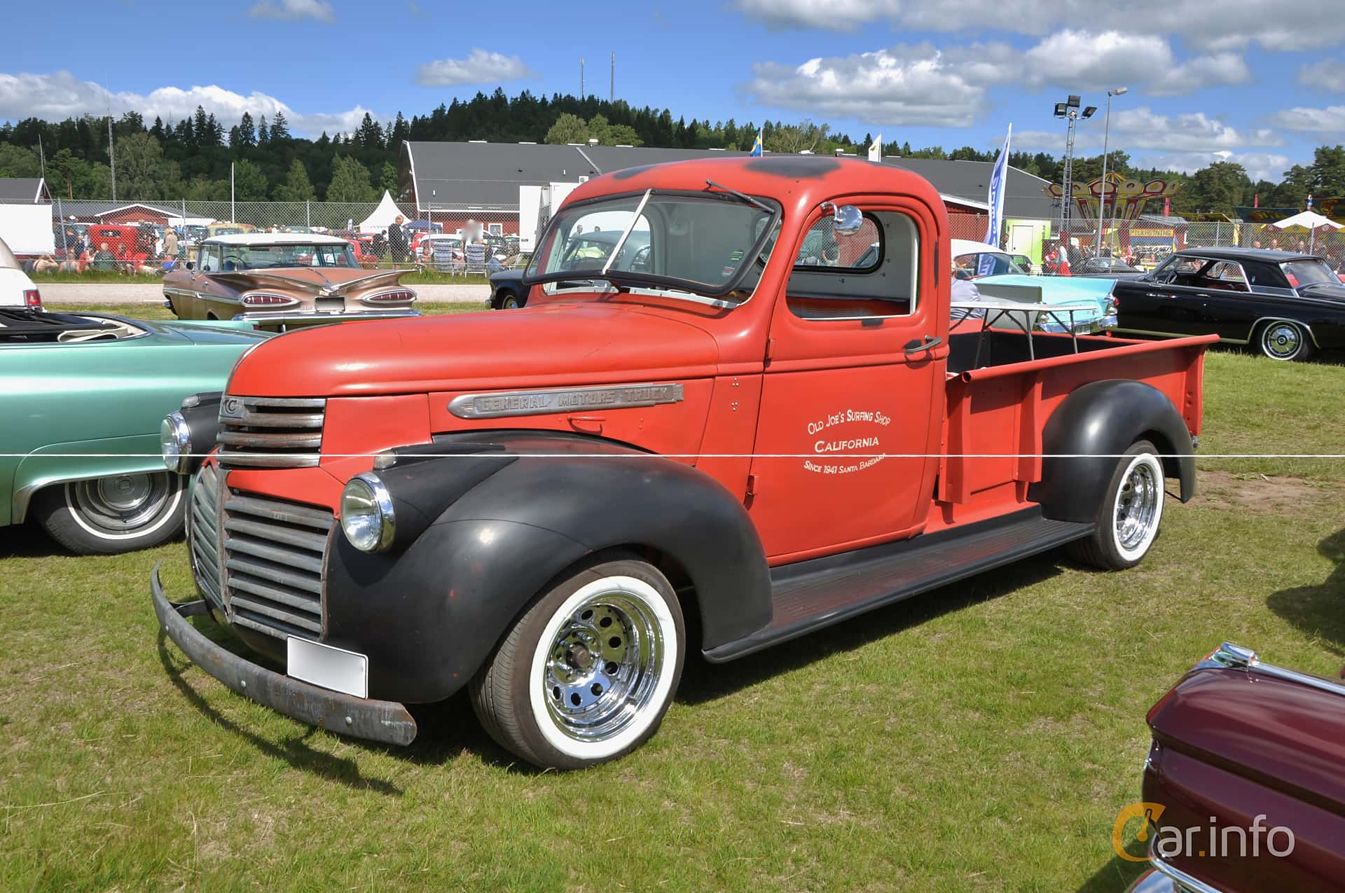 4 Images Of Gmc Cc150 Pickup 35 Manual 79hp 1941 By Jan Olof Truck Front Side 79ps At Nostalgifestivalen I