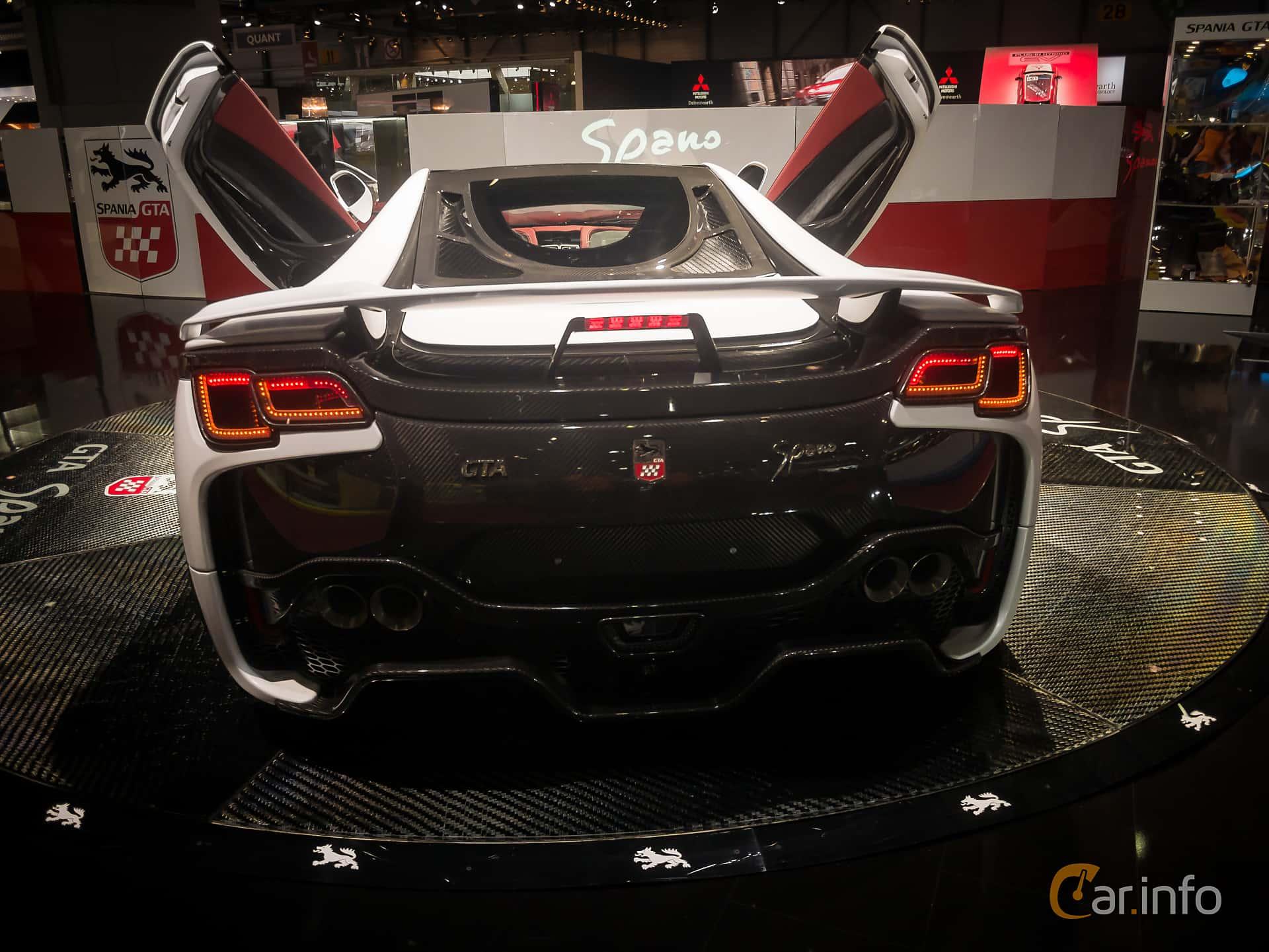 GTA Motor Spano 8.0 V10 Sequential, 938hp, 2015 at Geneva Motor Show 2015