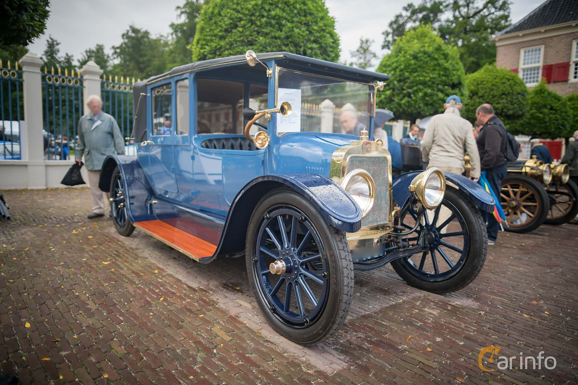 H.E. Hall & co. Hall 3.4 Manual, 21hp, 1915 at Concours d'Élégance Paleis Het Loo 2016