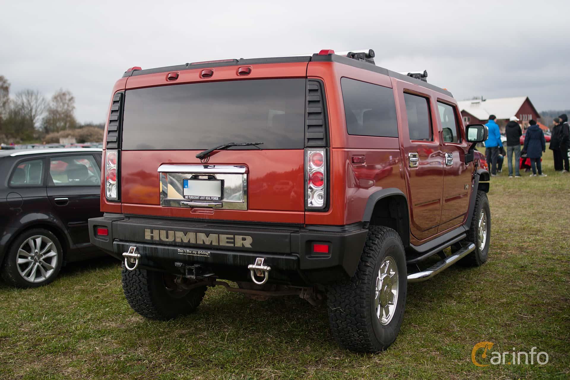 hummer car back side,
