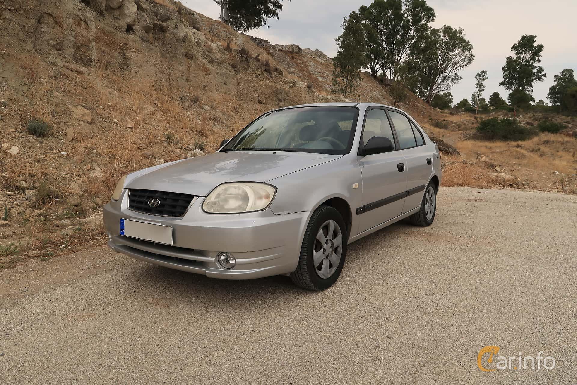 Hyundai Accent 5-door 1.3 Manual, 86hp, 2005