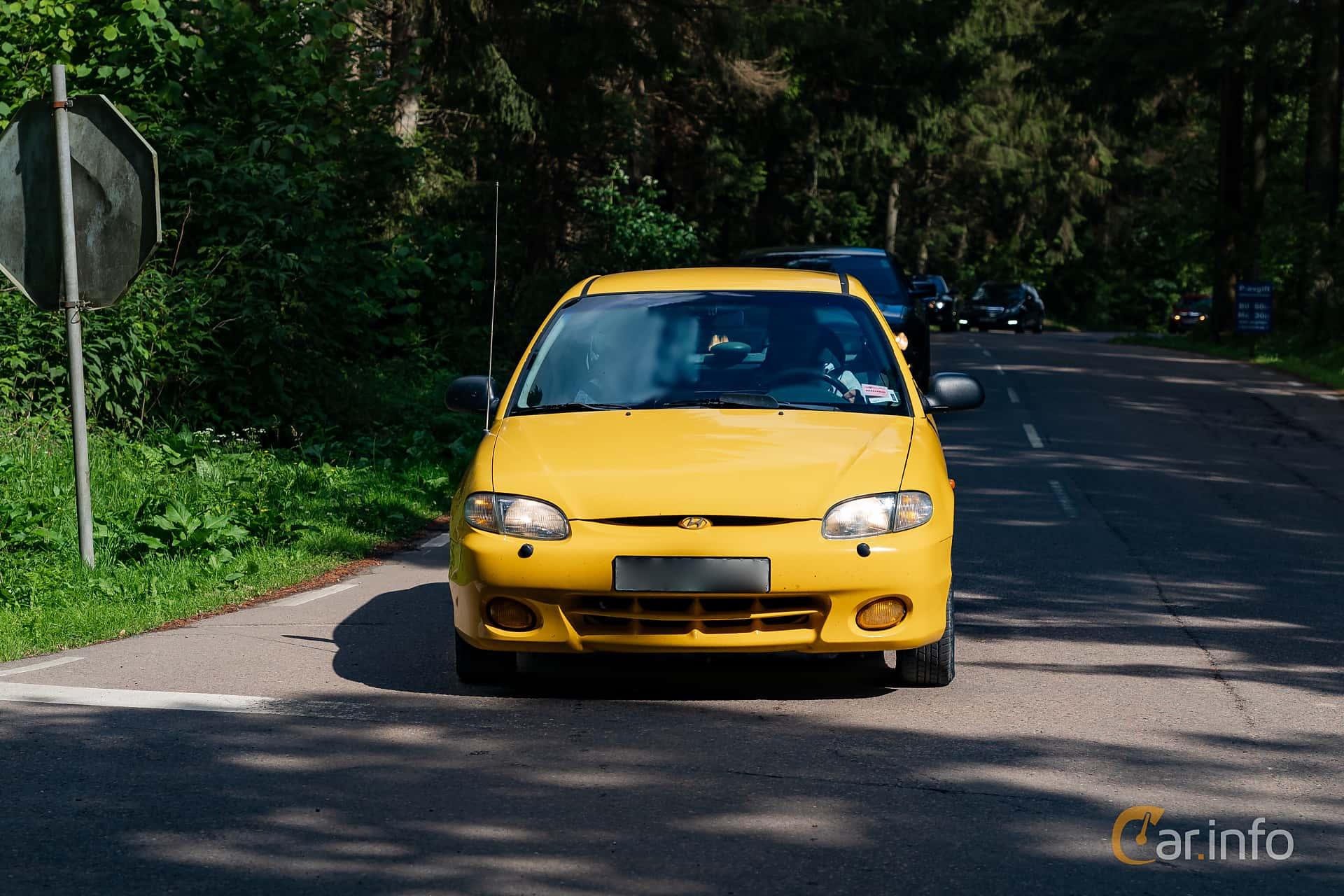 Hyundai Accent 5-door 1.5 Manual, 91hp, 1998 at Svenskt sportvagnsmeeting 2019