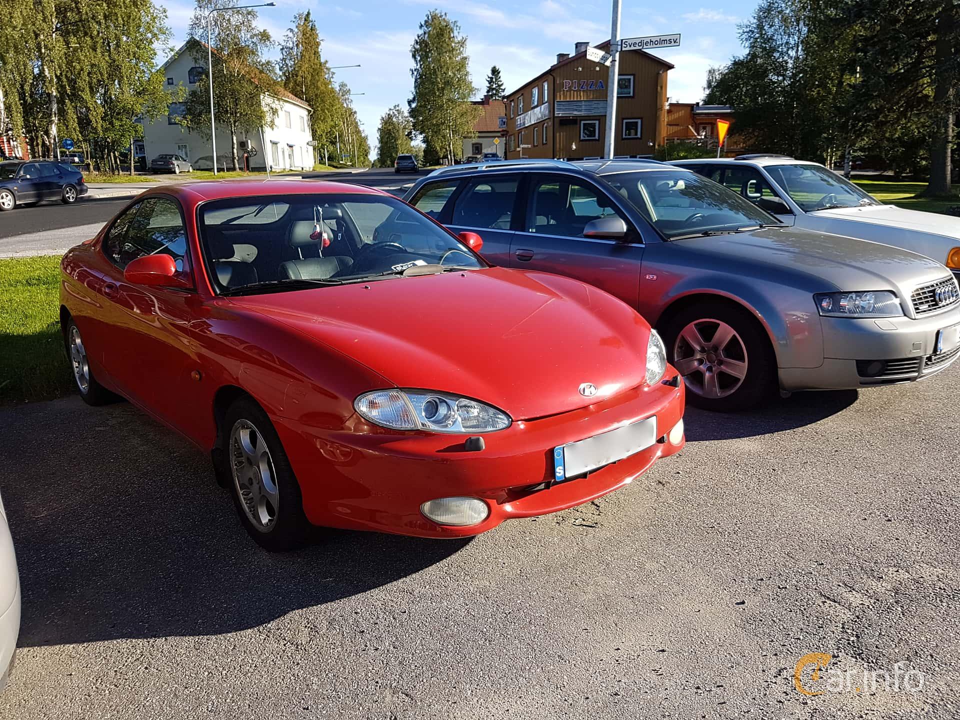 Hyundai Coupé 2.0 Automatic, 139hp, 1997