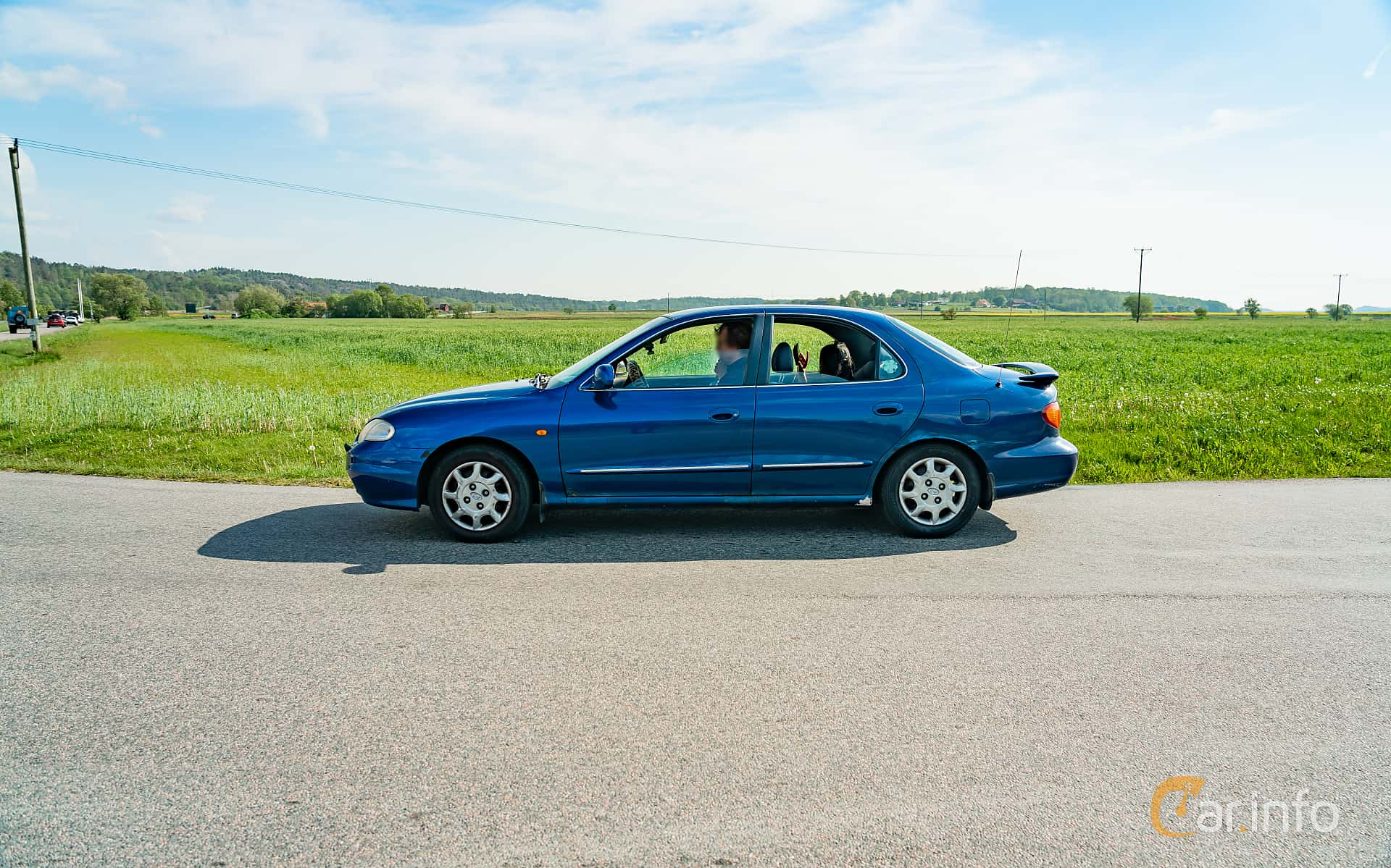 Hyundai Elantra Sedan 1.8 Manual, 129hp, 2000 at Tjolöholm Classic Motor 2019