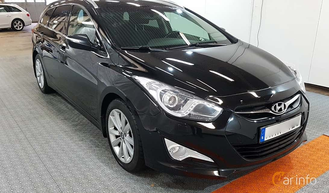 Hyundai i40cw 1.7 CRDi Automatic, 136hp, 2013
