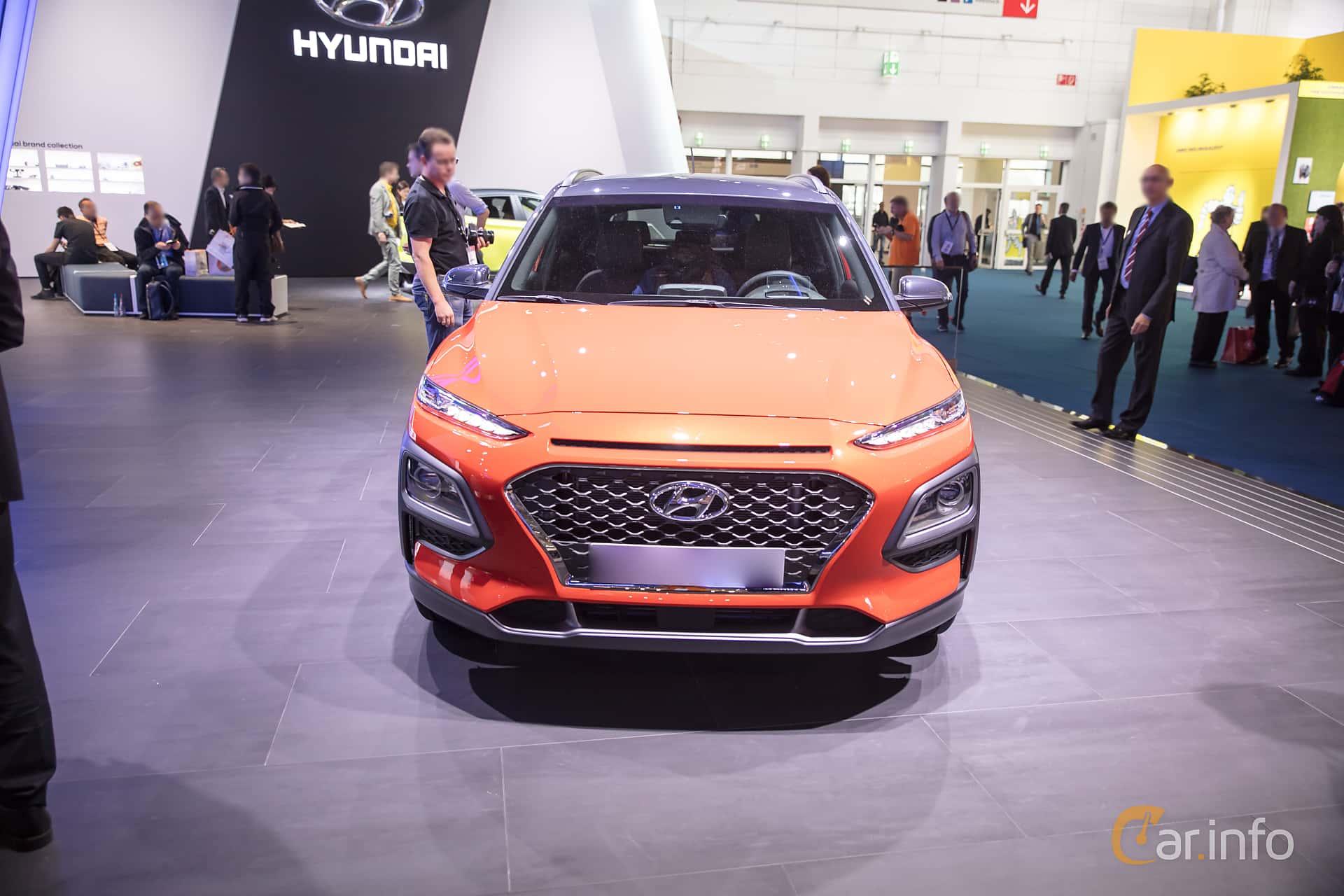 Front  of Hyundai Kona 1.6 T-GDI AWD DCT, 177ps, 2018 at IAA 2017