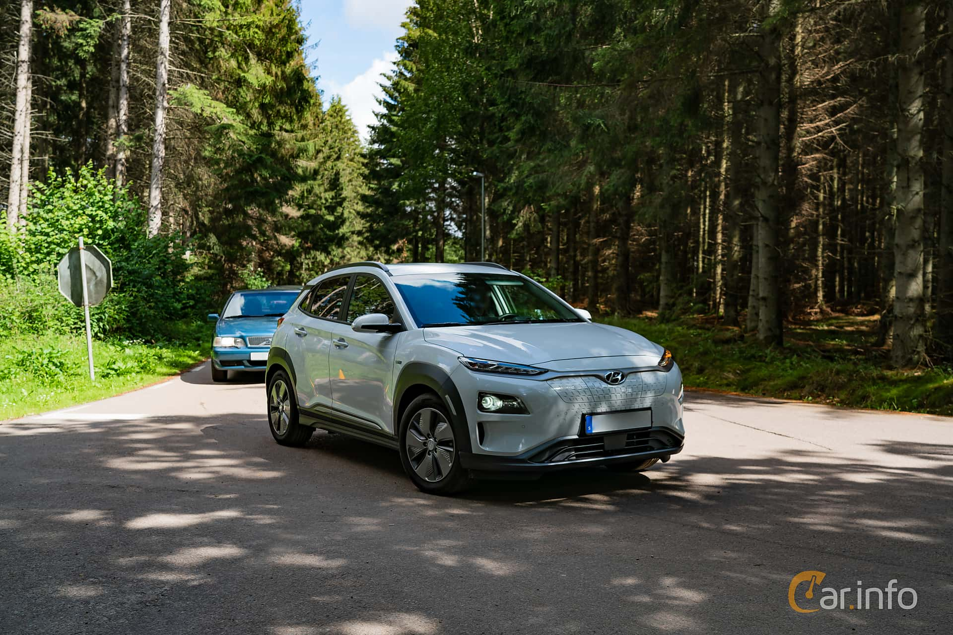 Hyundai Kona Electric 64 kWh Single Speed, 204hp, 2019 at Svenskt sportvagnsmeeting 2019