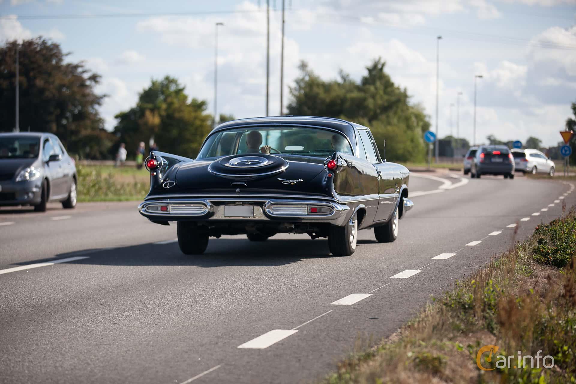 Imperial Crown 2-door Southampton 6.4 V8 TorqueFlite, 349hp, 1958 at Lergökarallyt 2018