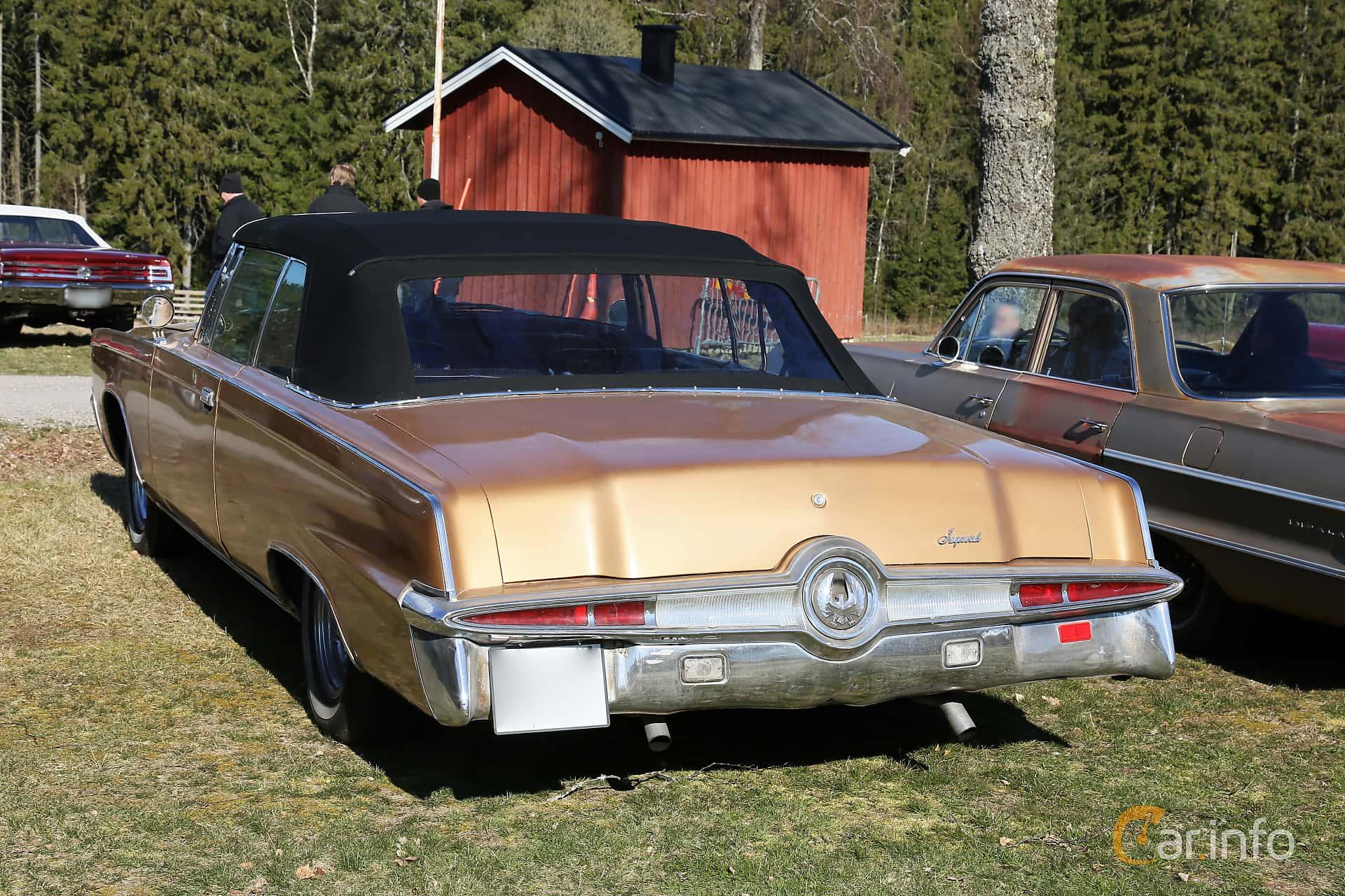 Imperial Crown Convertible 7.2 V8 TorqueFlite, 355hp, 1966 at Uddevalla Veteranbilsmarknad Backamo, Ljungsk 2019