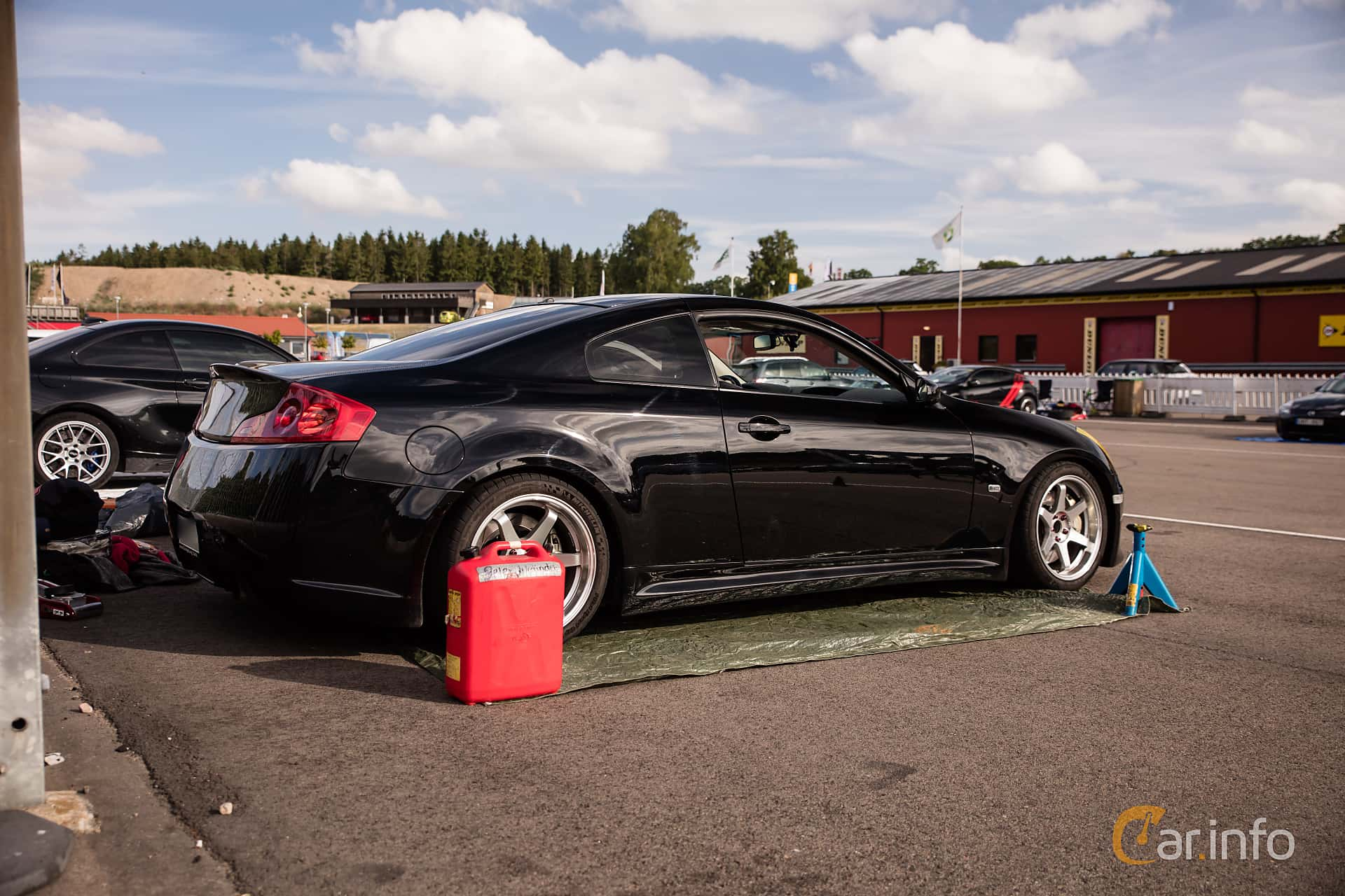 Infiniti G35 Coupé 3.5 V6 Manual, 302hp, 2006 at JapTuning Trackday 2018 Knutstorp